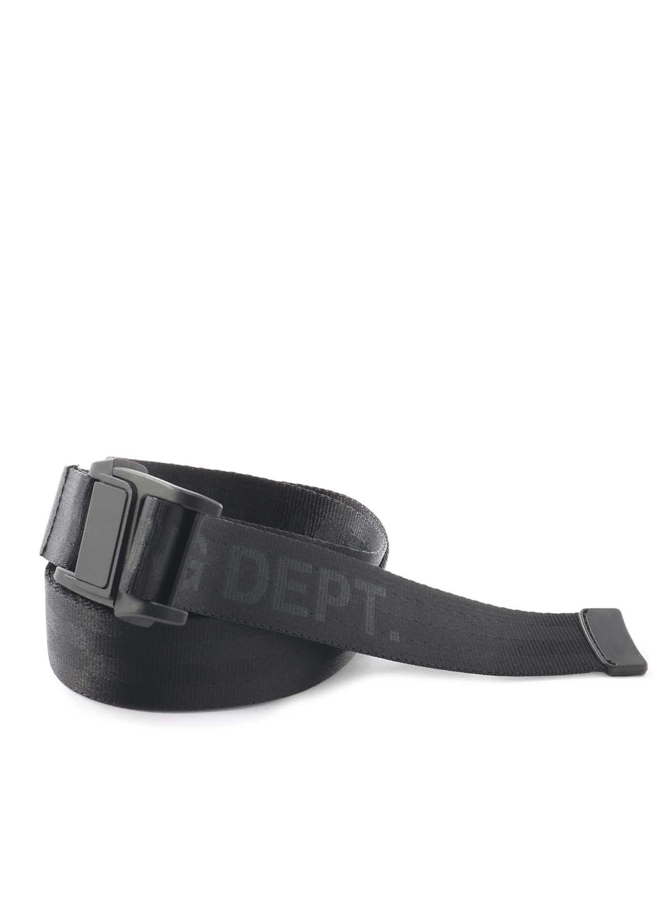 磁铁带扣尼龙长腰带