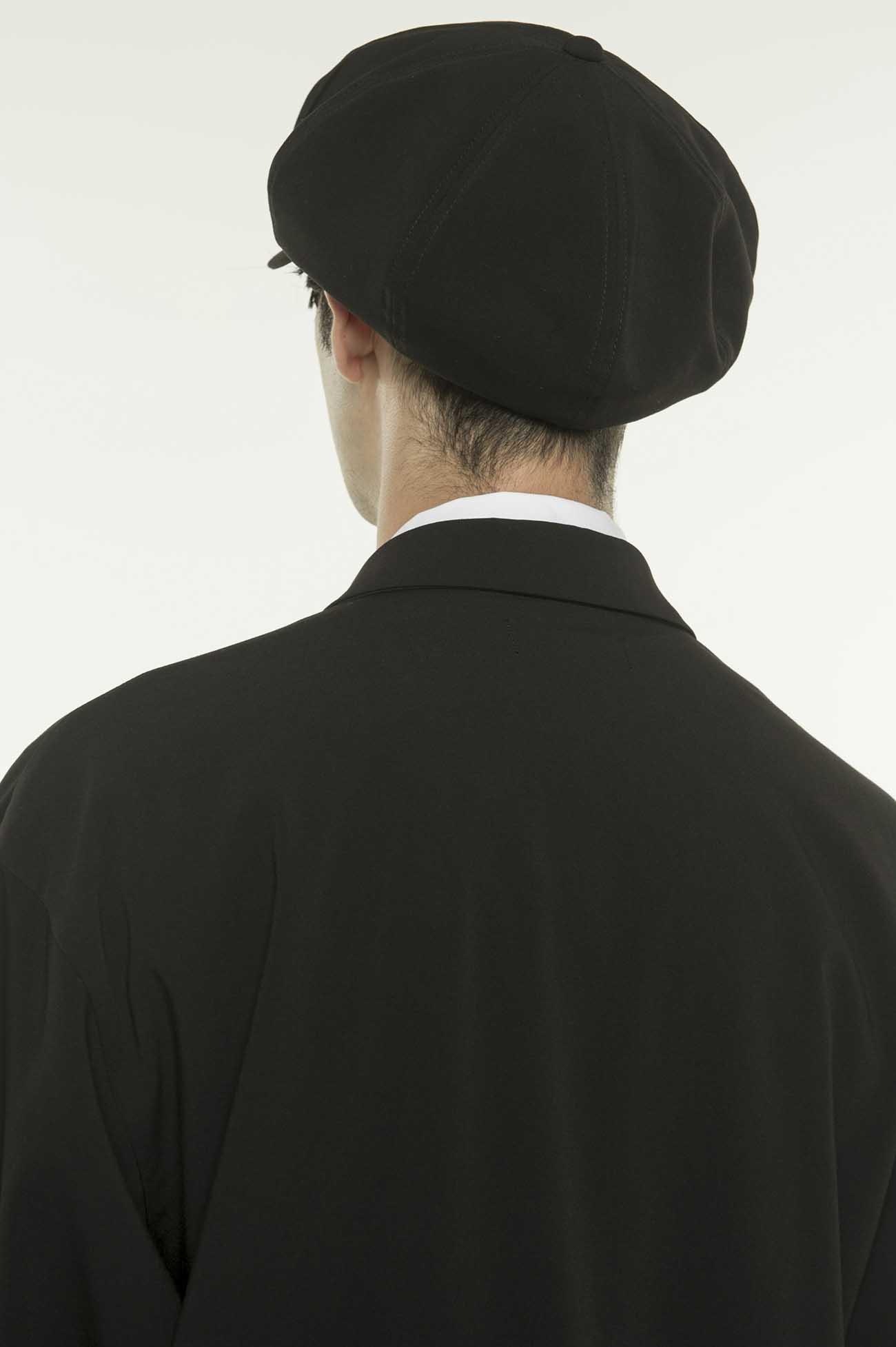 人造丝混纺八角帽