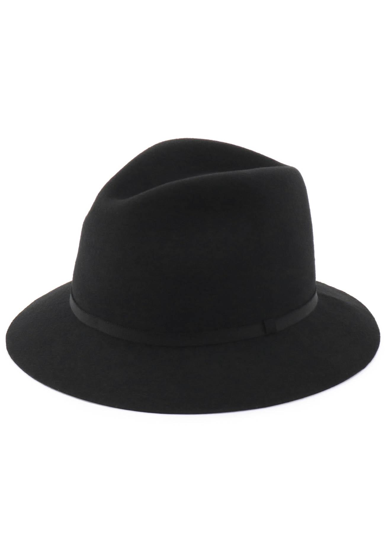 羊毛毡短檐礼帽