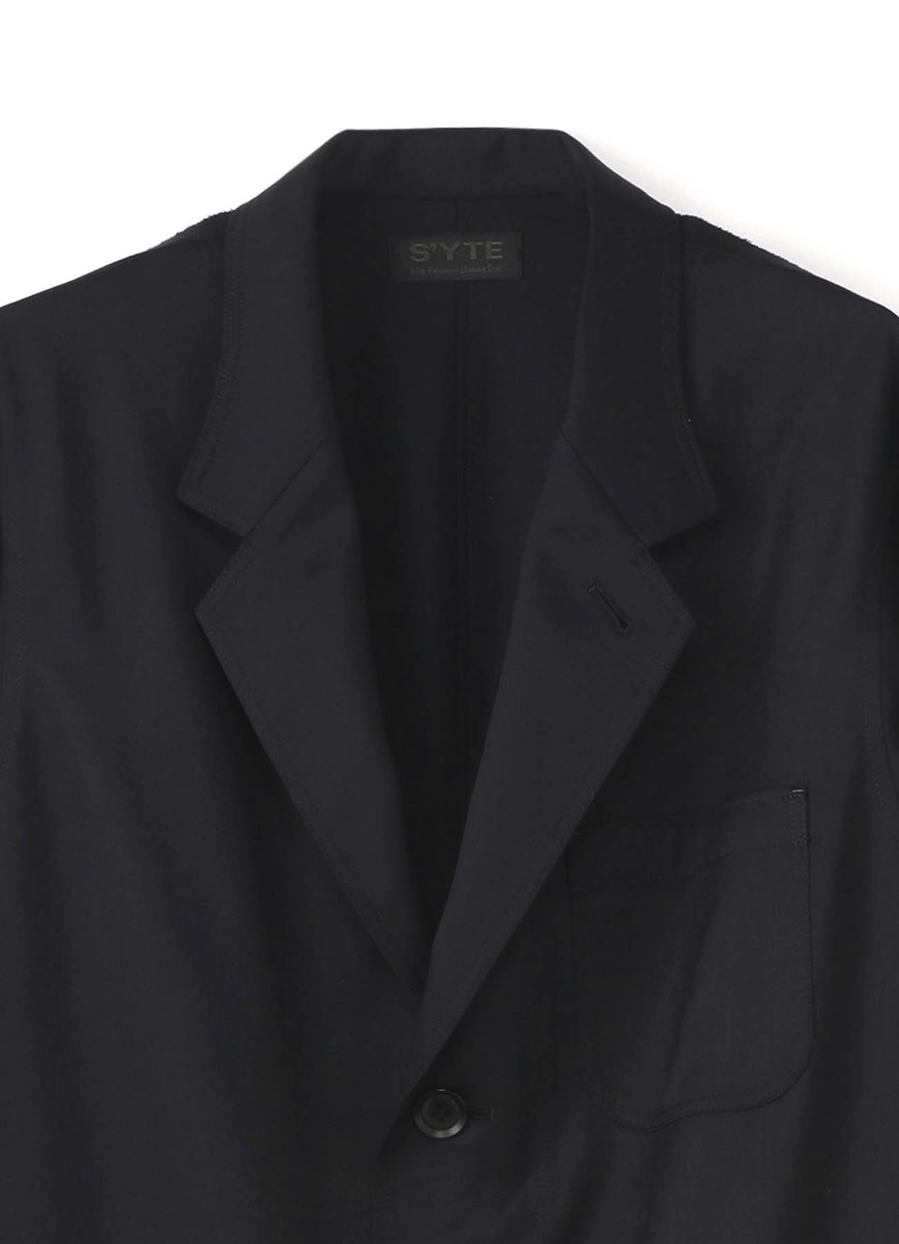 T/W Twill 3BS Tailored Shirt Jacket