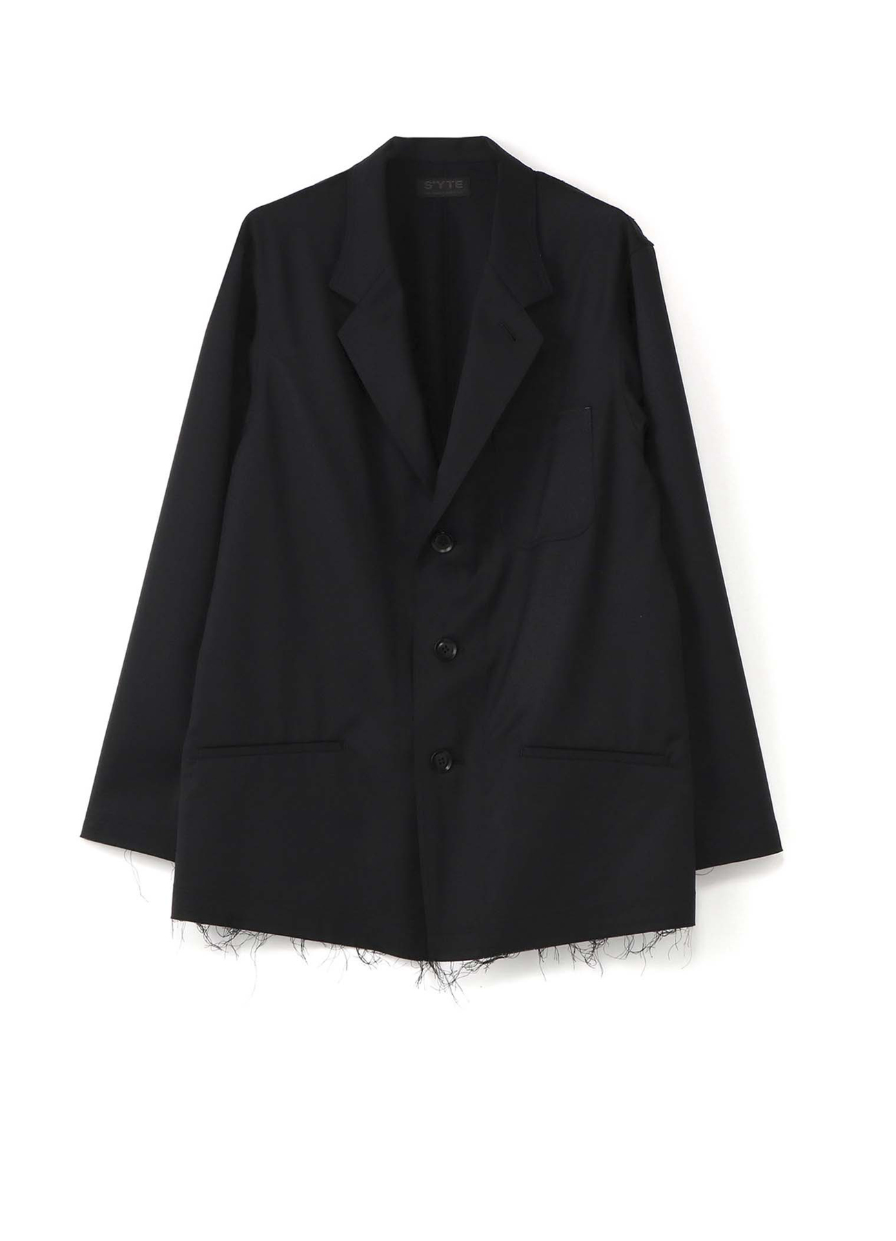 T/W Twill 3BS Tailored Shirt Jacket