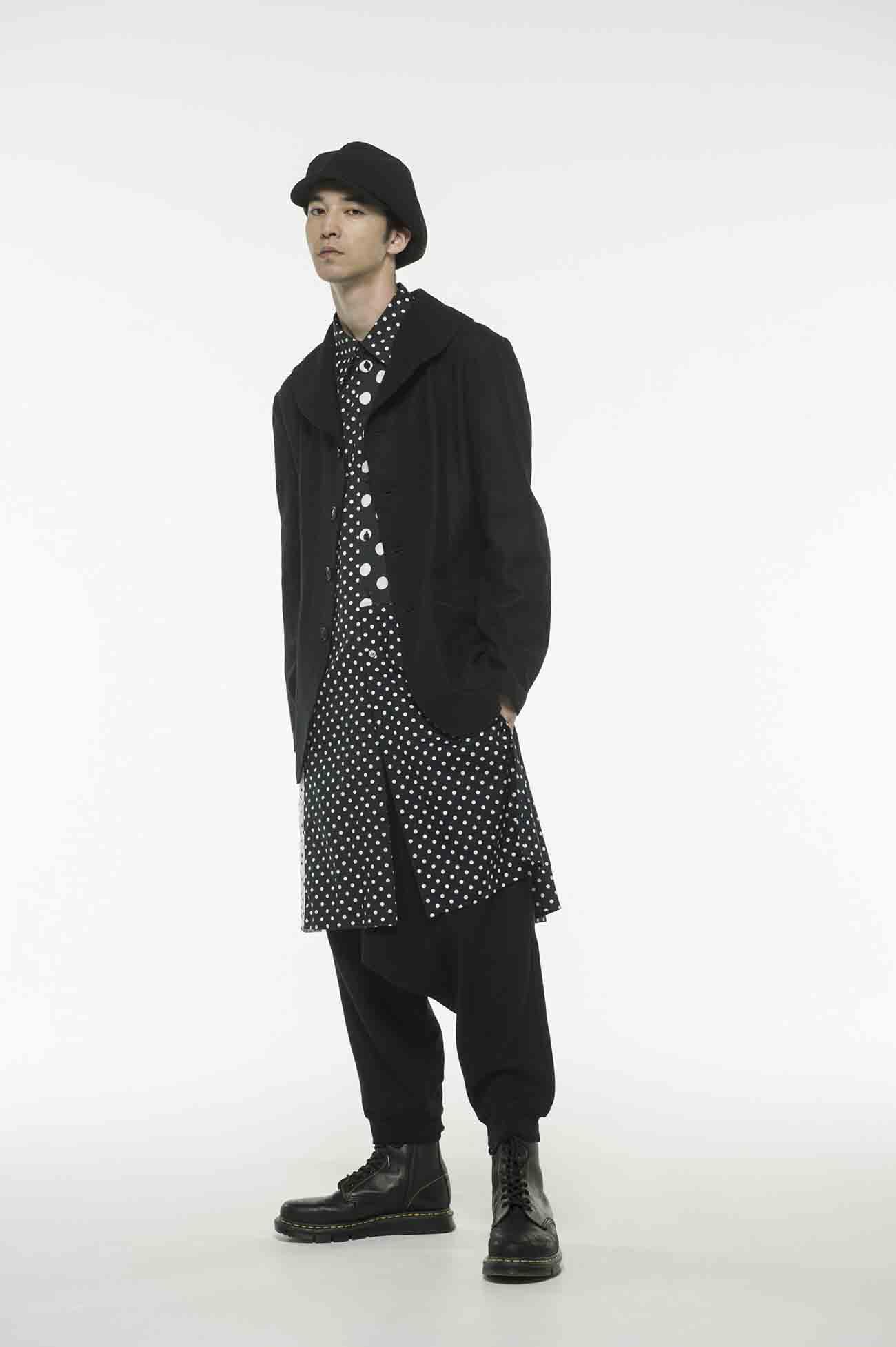 Compression Wool Shawl Collar Single P Coat