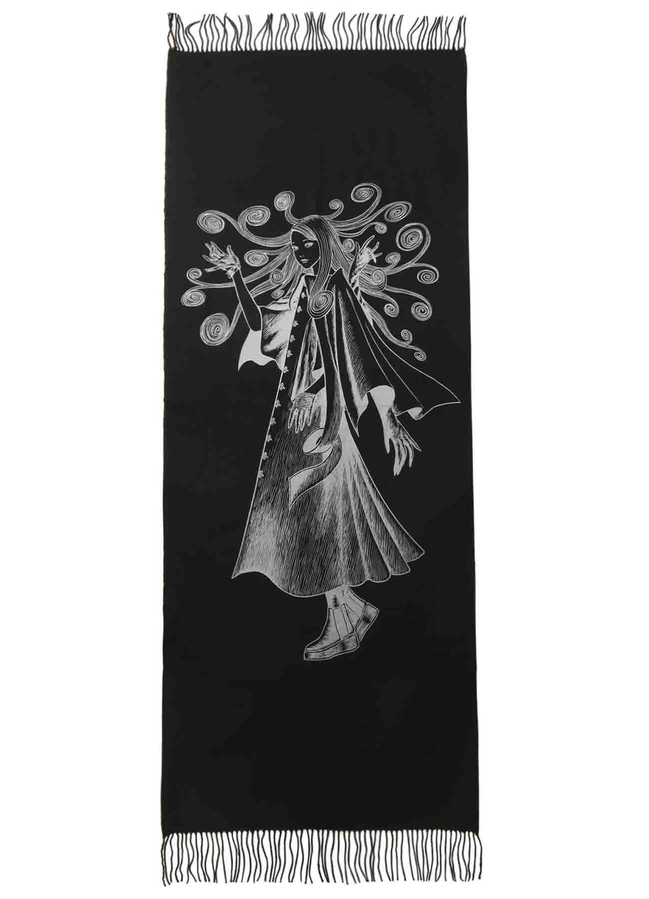 Kirie Uzumaki Wearing Yohji Yamamoto Large format Stall