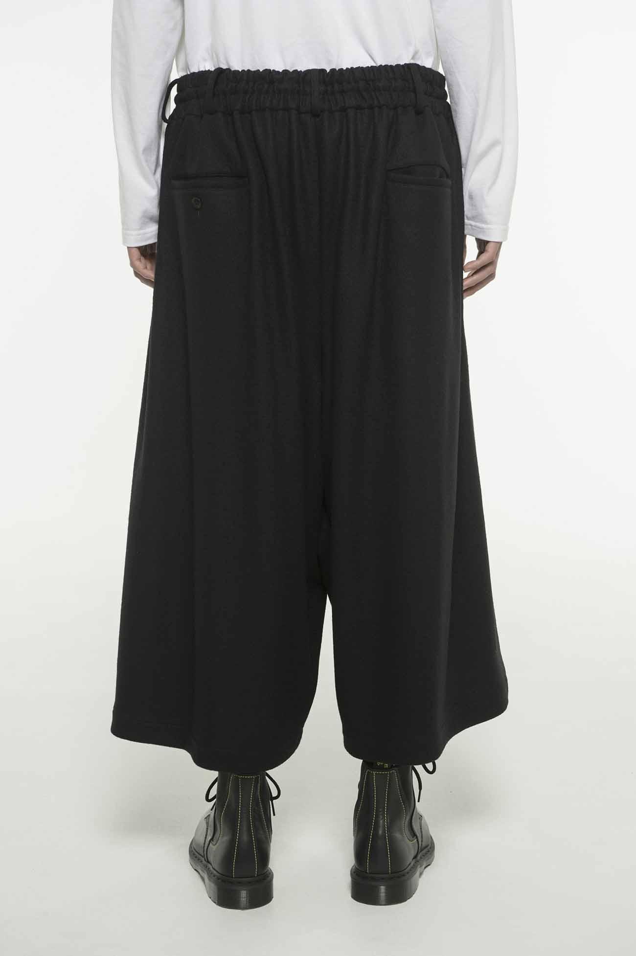 压缩羊毛裙裤