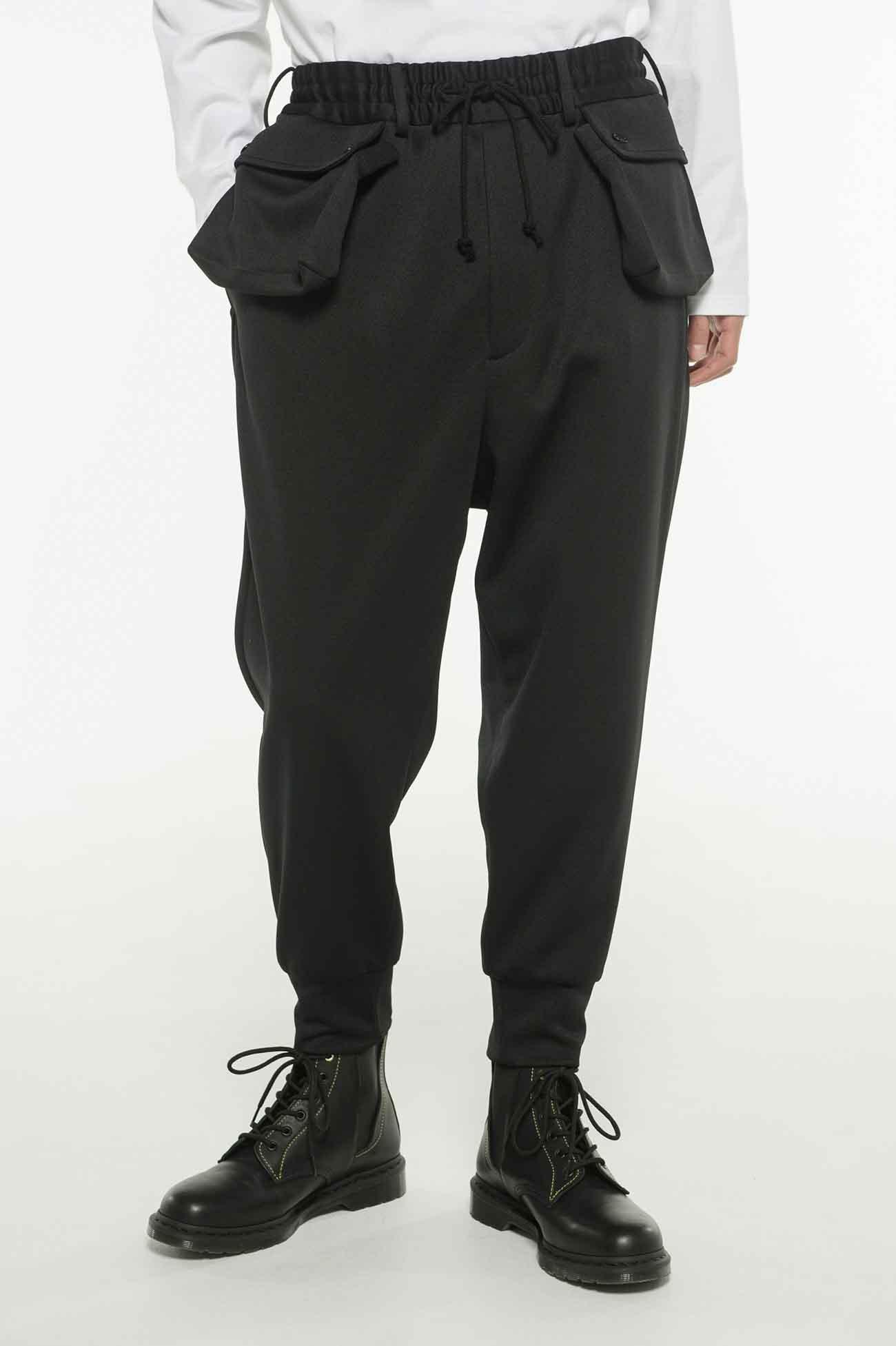 Pe/Smooth Jersey Hem Rib Pocket Pants