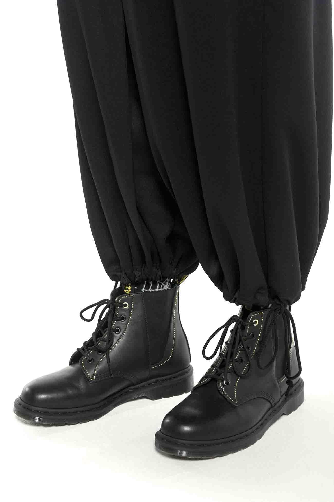 涤纶和风袴灯笼裤