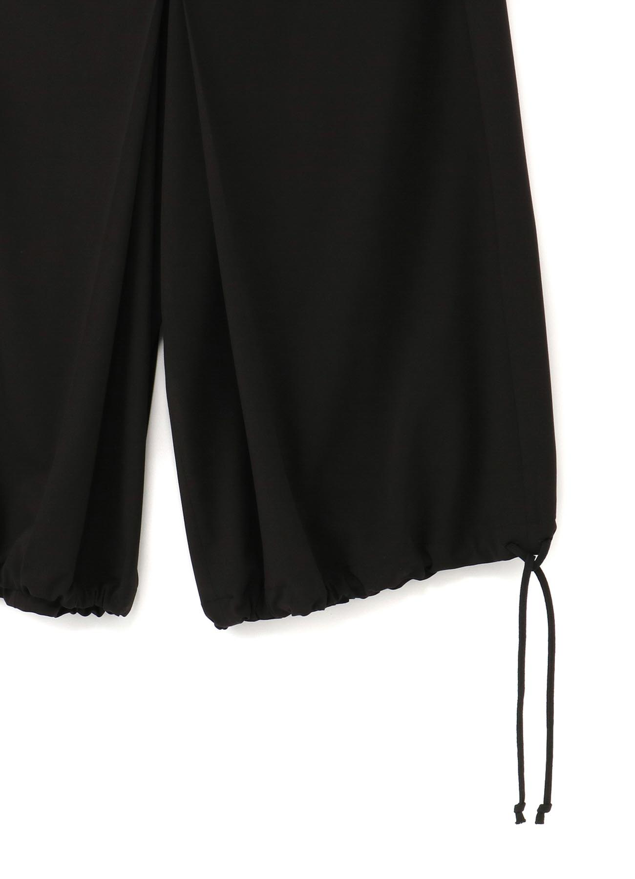 Pe/Rayon Gabardine Stretch Hakama Balloon Pants