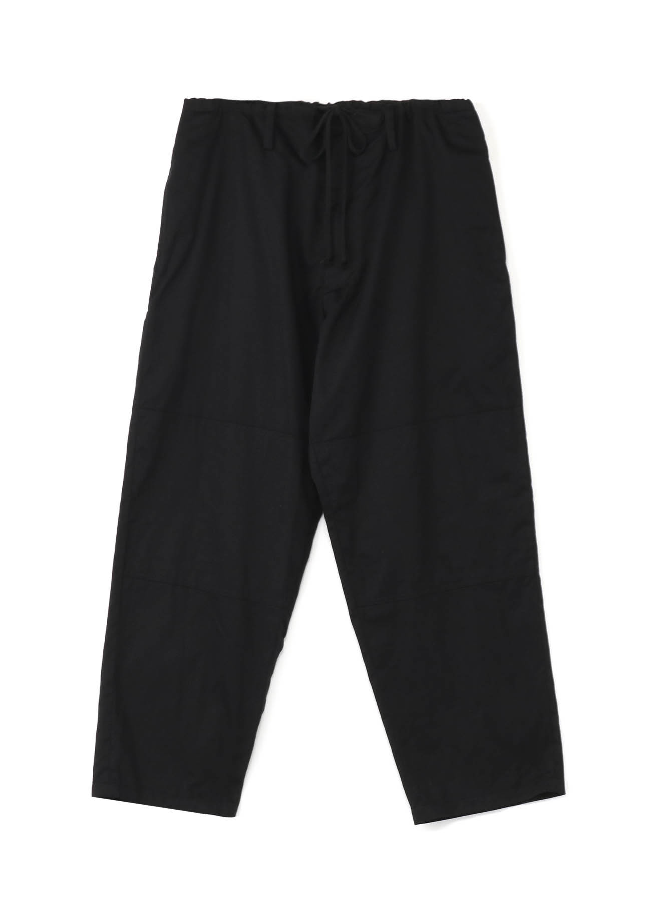 20/Cotton Twill Waist String Double Knee Pants