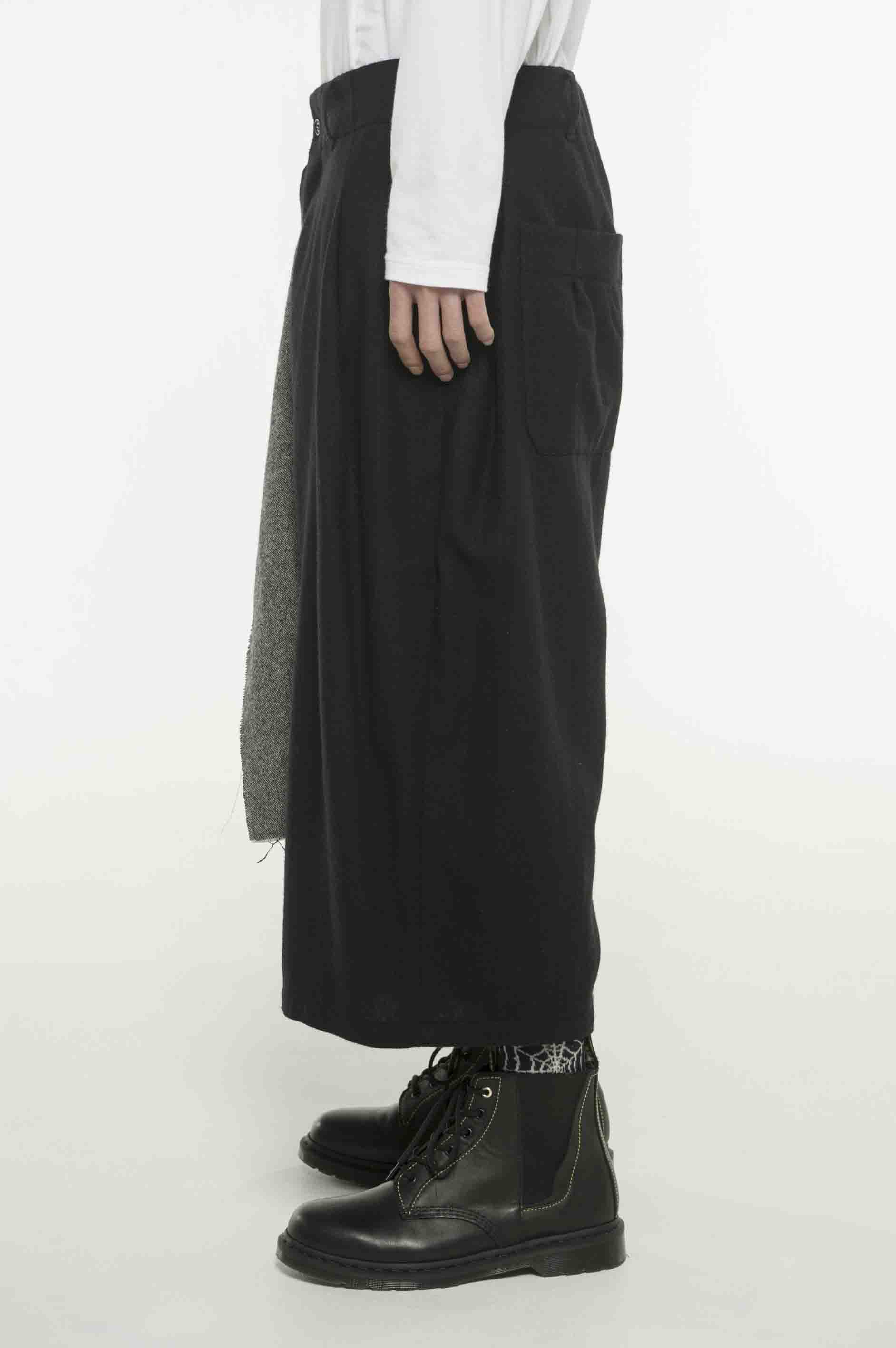 Etermin Tweed One Tack 6-quarter-length Wrap Pants