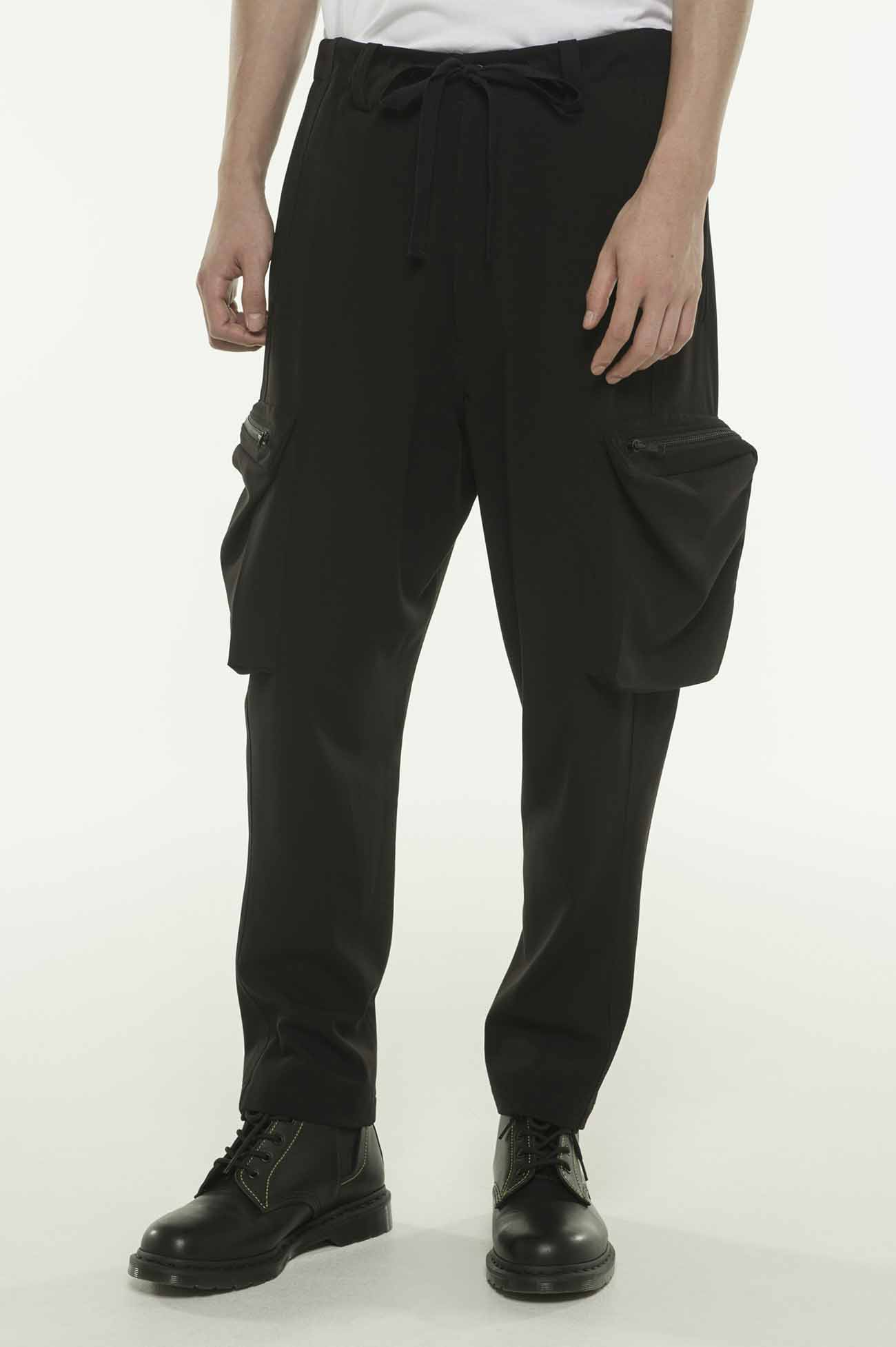Pe/Rayon Gabardine Stretch Tactical Cargo Pants