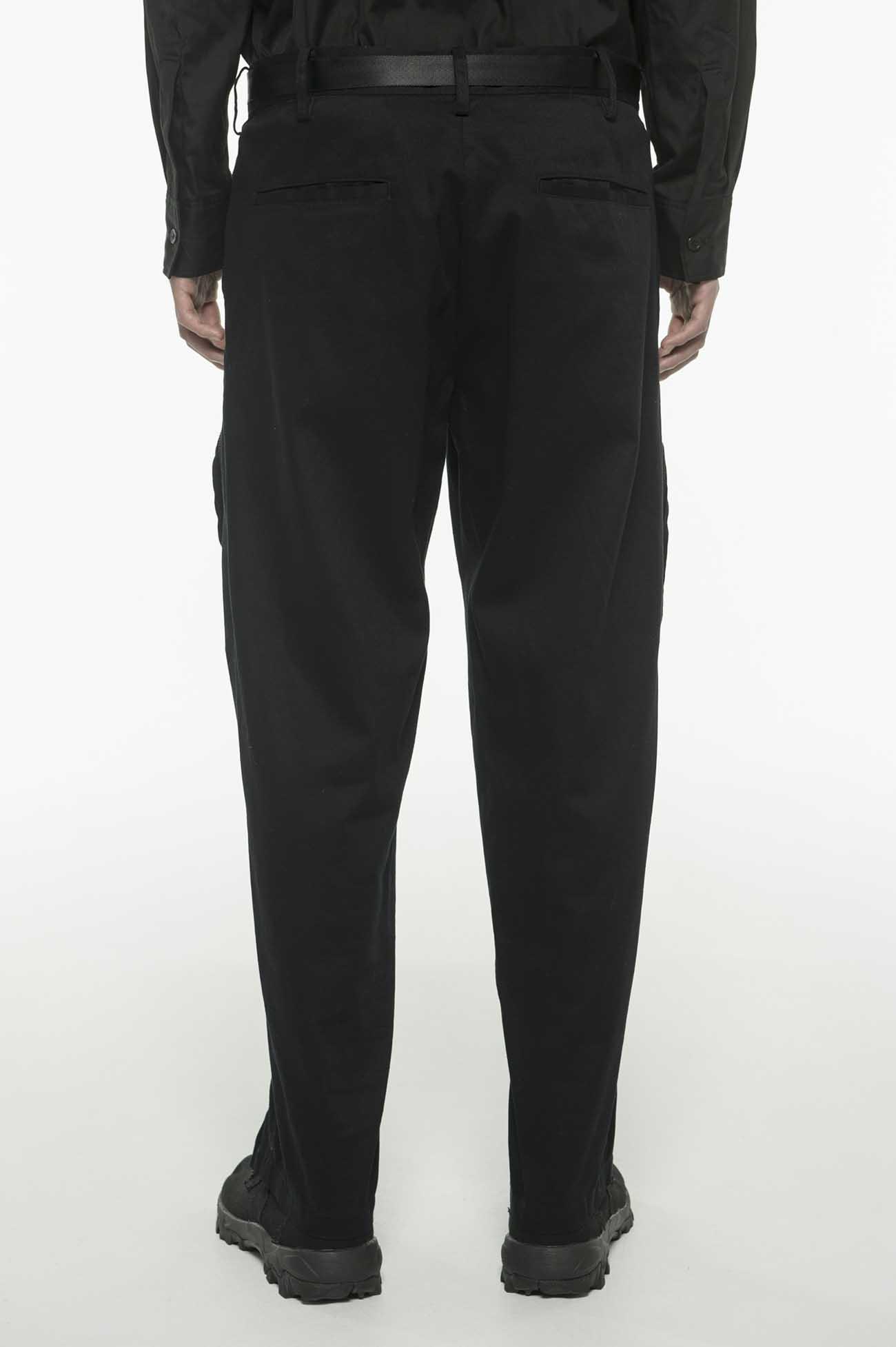 20/Cotton Twill Bondage Zipper Cargo Pants