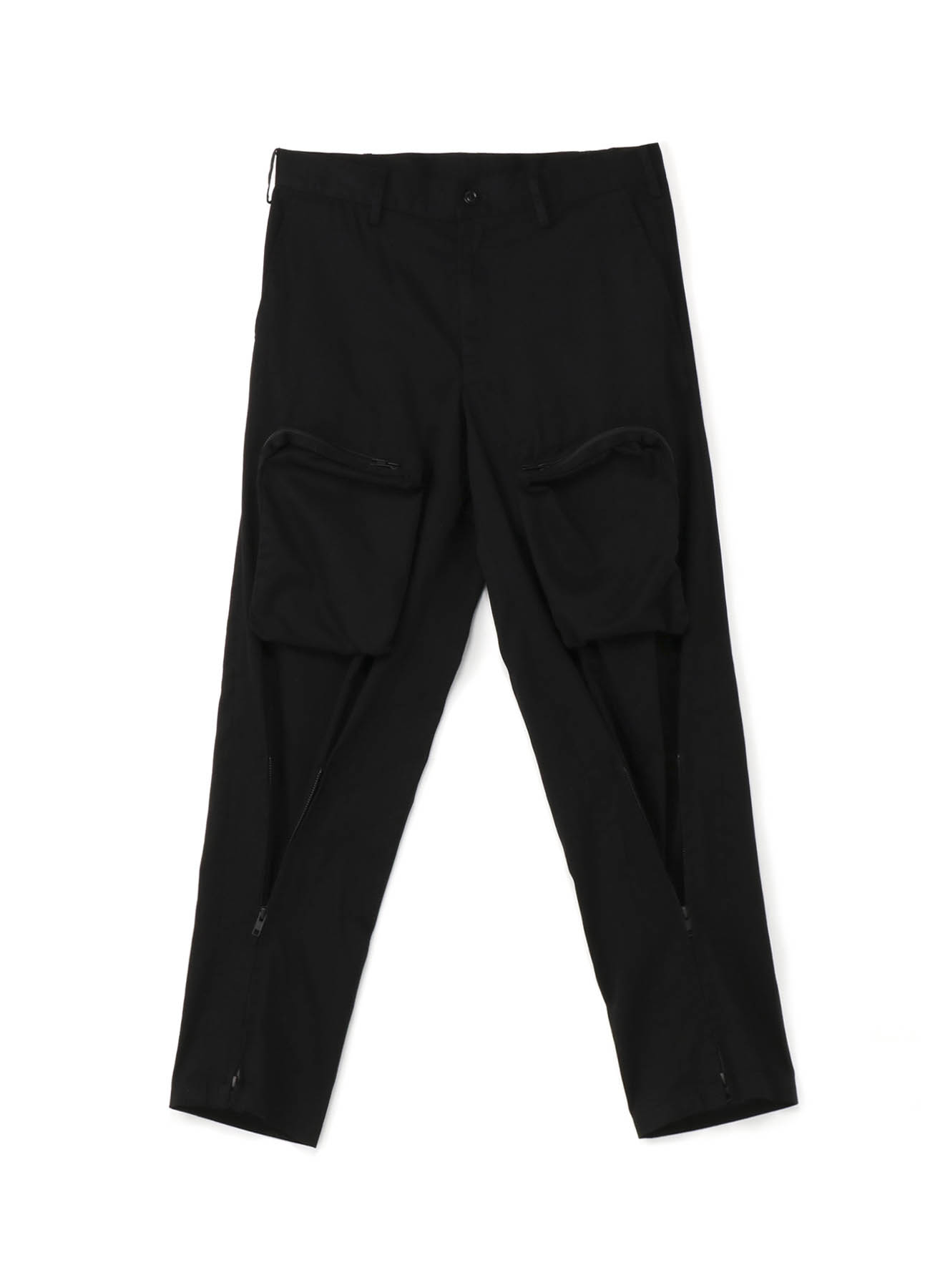 20/Cotton Twill Bondage Zipper Cargo Pants
