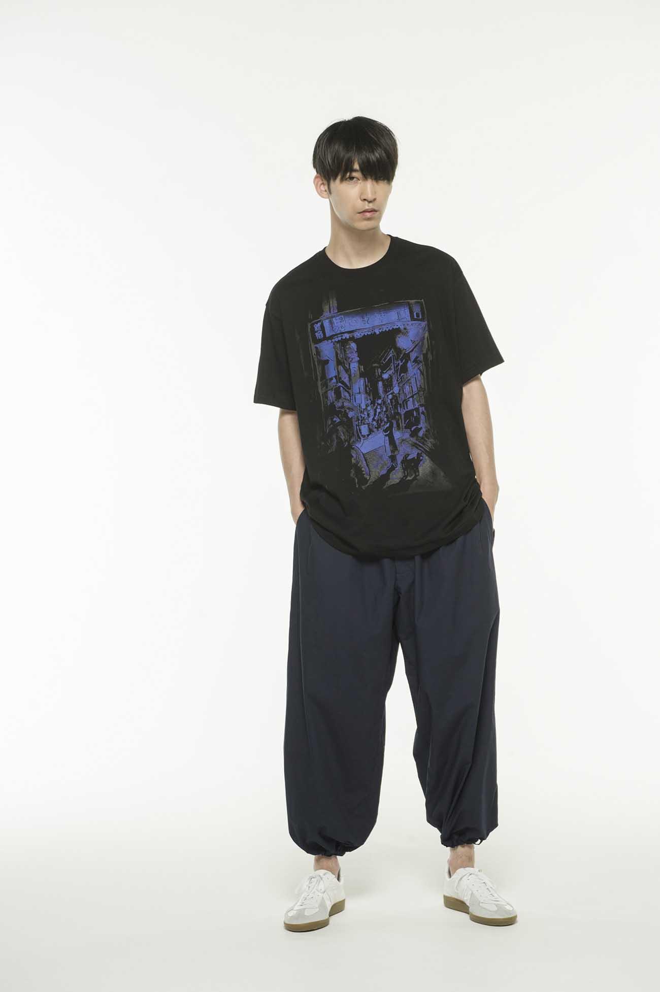 山20/CottonJersey Yohji's Origin Omoide Yokocho by Yasuto Sasada T-Shirt