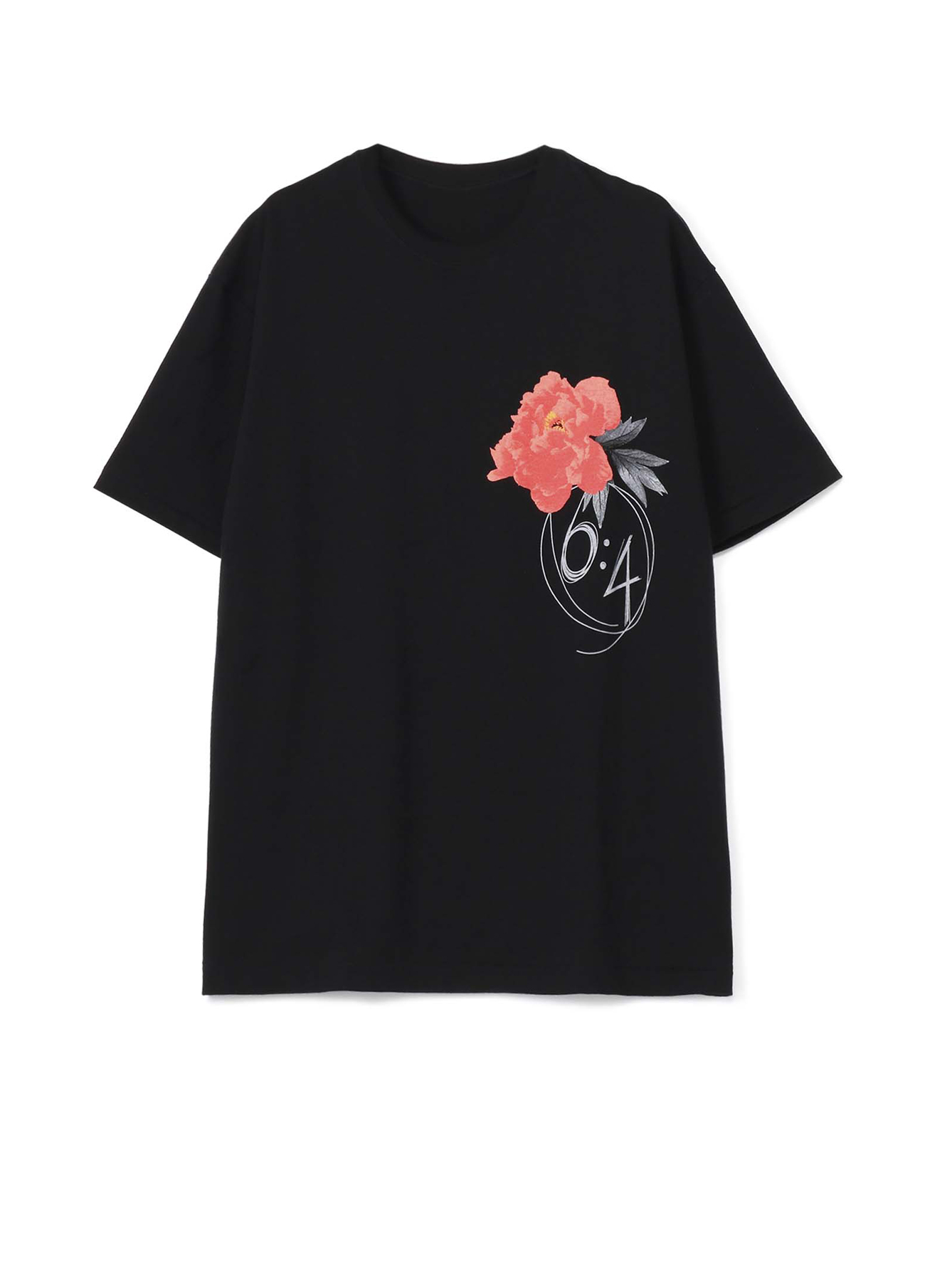 Red Peony Flower ×6:4 T恤