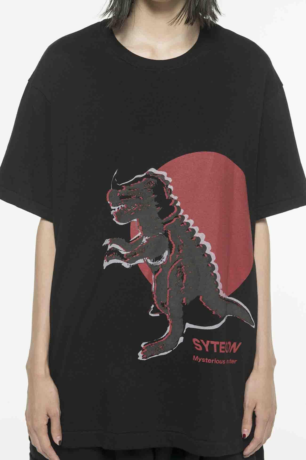 20/CottonJersey Soft Vinyl Monster SYTEGON T-Shirt