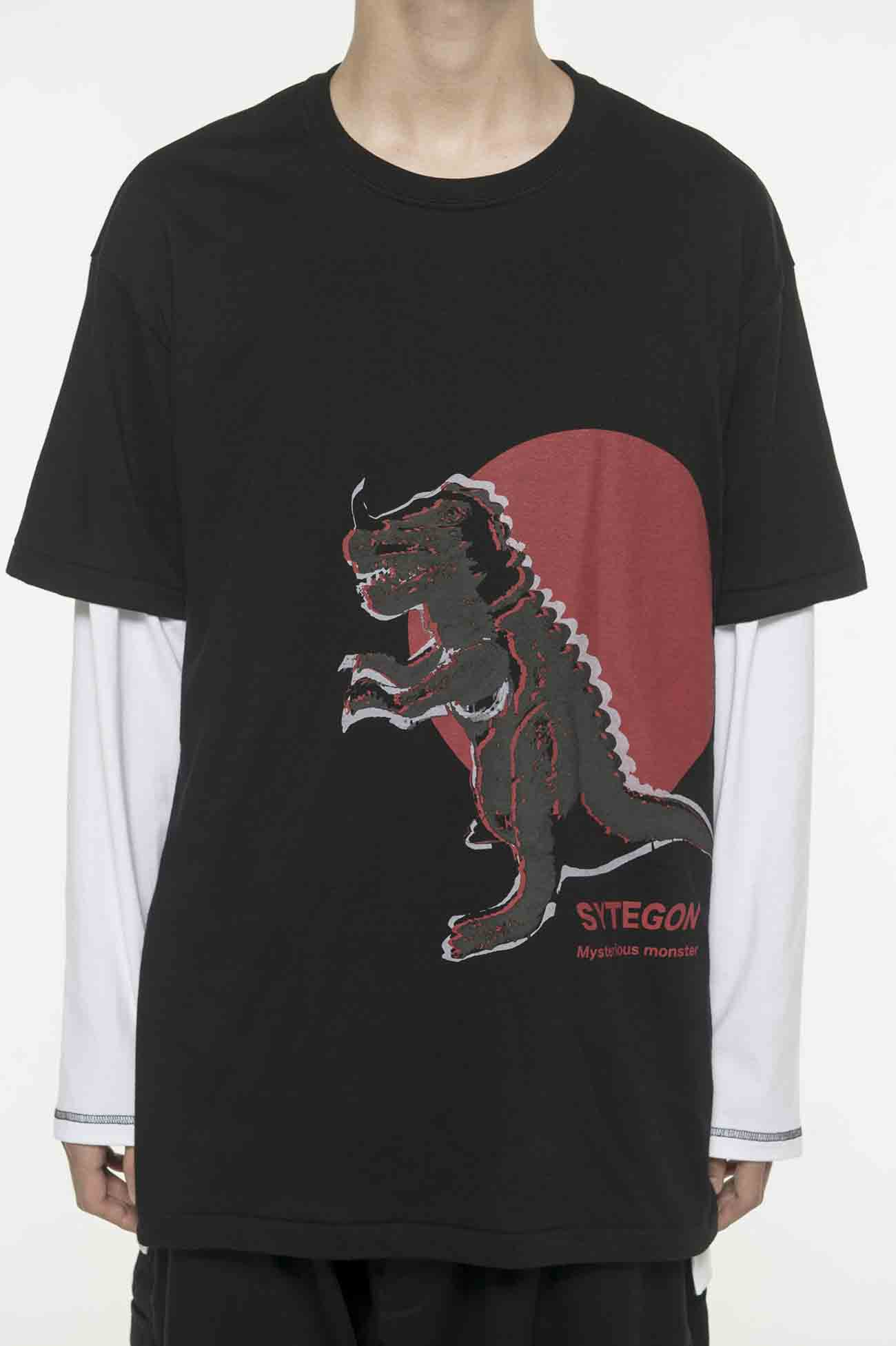 20/CottonJersey Soft Vinyl Monster SYTEGON T-Shirt