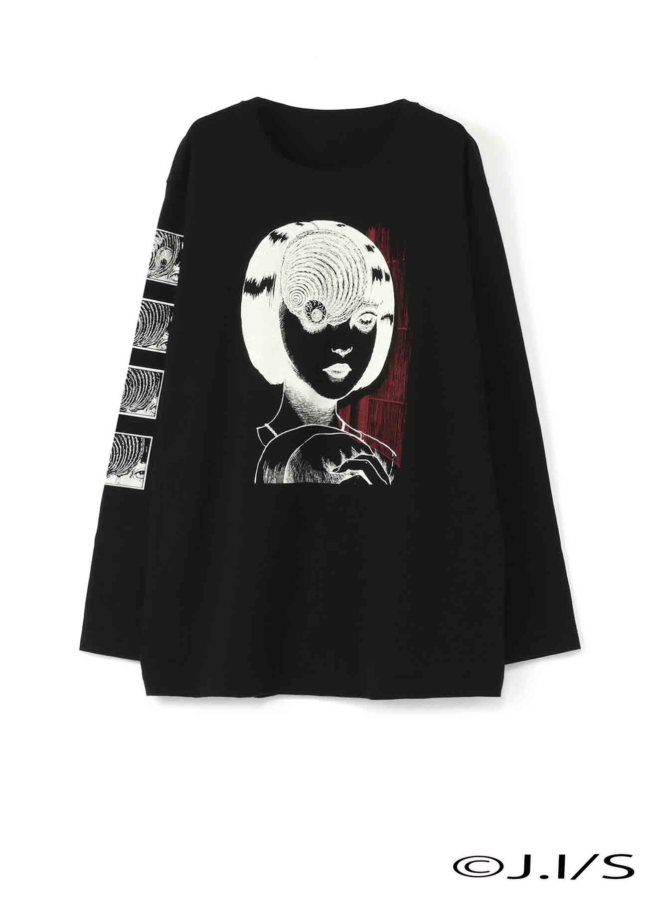 20/CottonJersey Uzumaki Azami on the Forehead LongSleeveTshirt