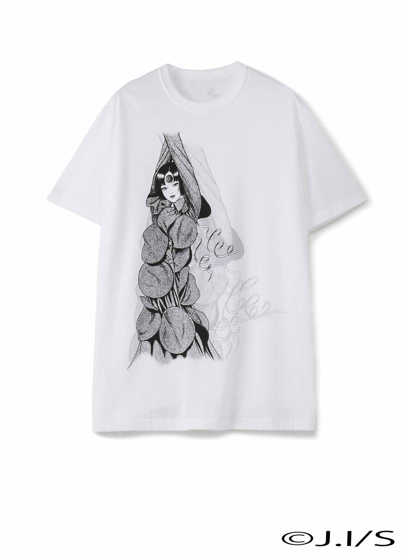 20/CottonJersey Azami Uzumaki Wearing Yohji Yamamoto T-shirt