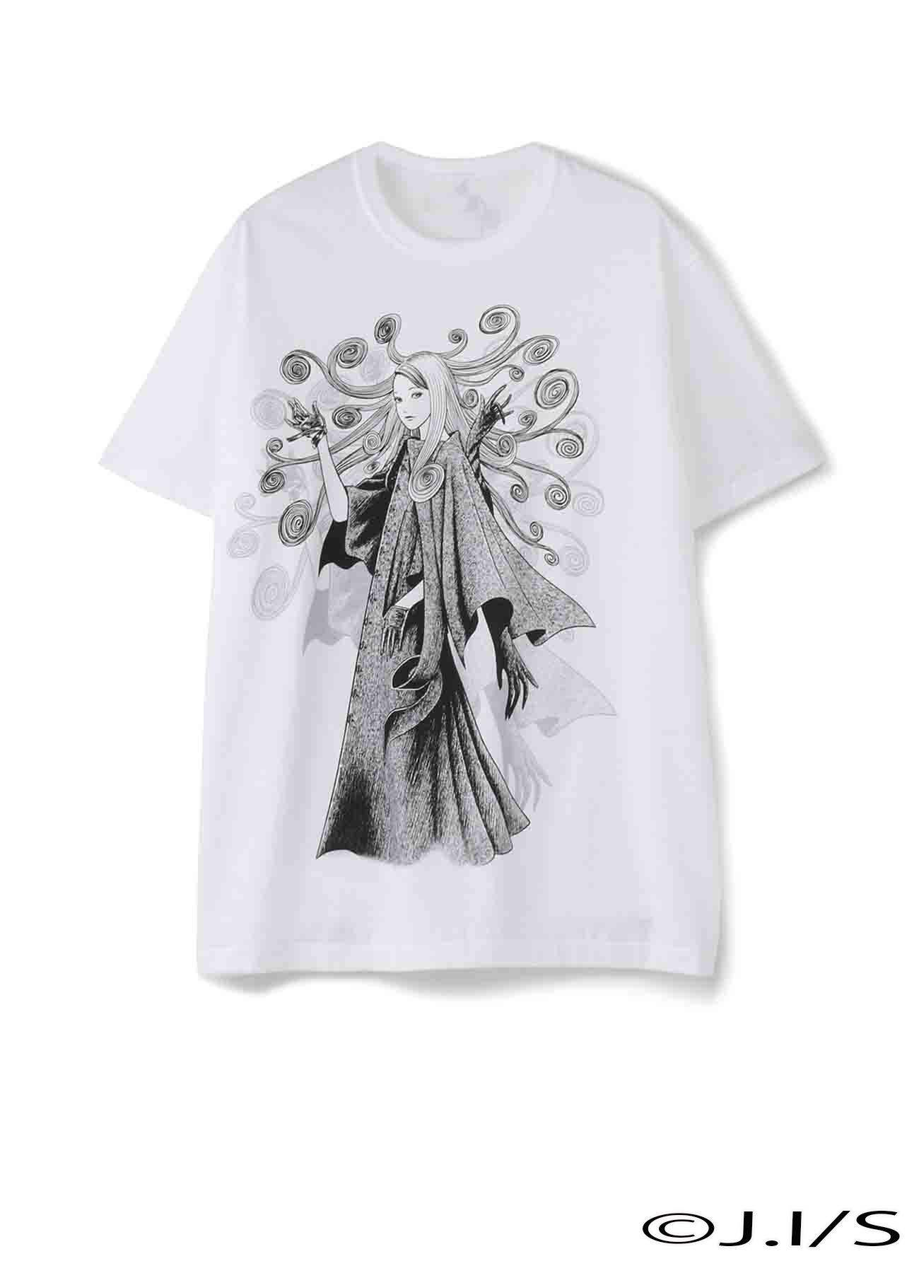 五岛桐绘×Yohjiyamamoto T恤