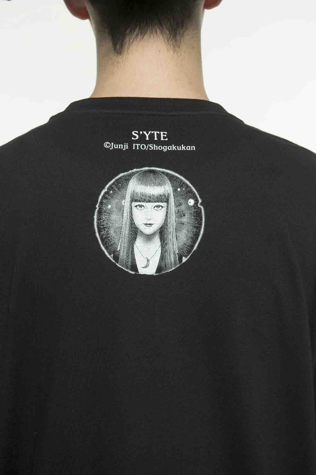 20/CottonJersey Junji Ito「BEST OF BEST」Blind spotted Venus Long Sleeve T-Shirt
