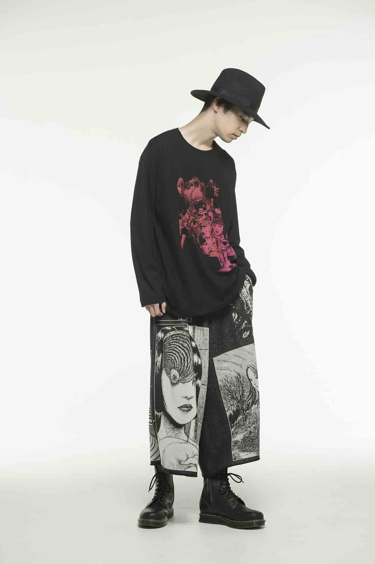 "S'YTE × 伊藤润二-""盲点的维纳斯""T恤"