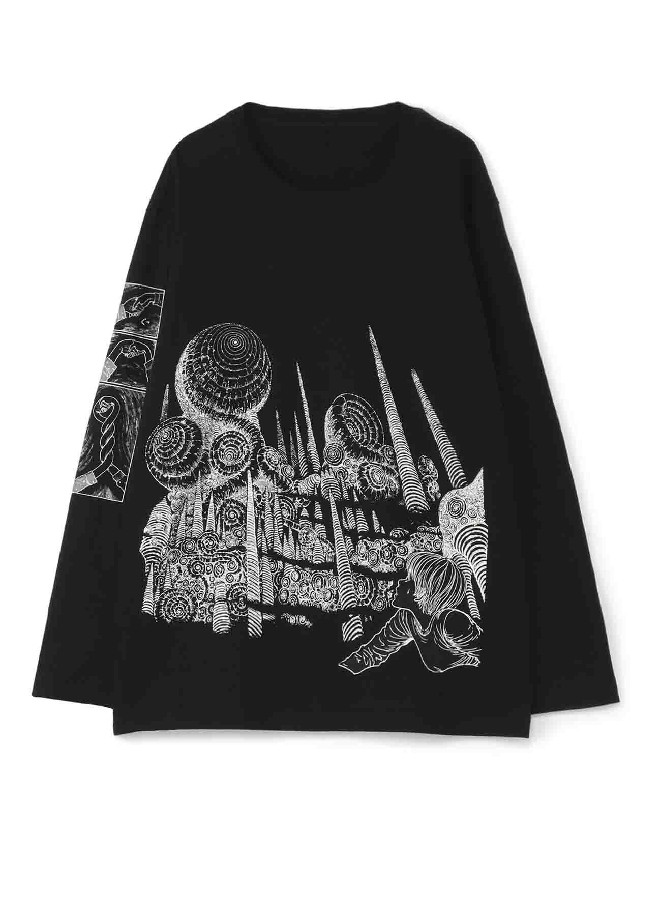 """S'YTE × 伊藤润二-最后的""""旋涡""""T恤"""
