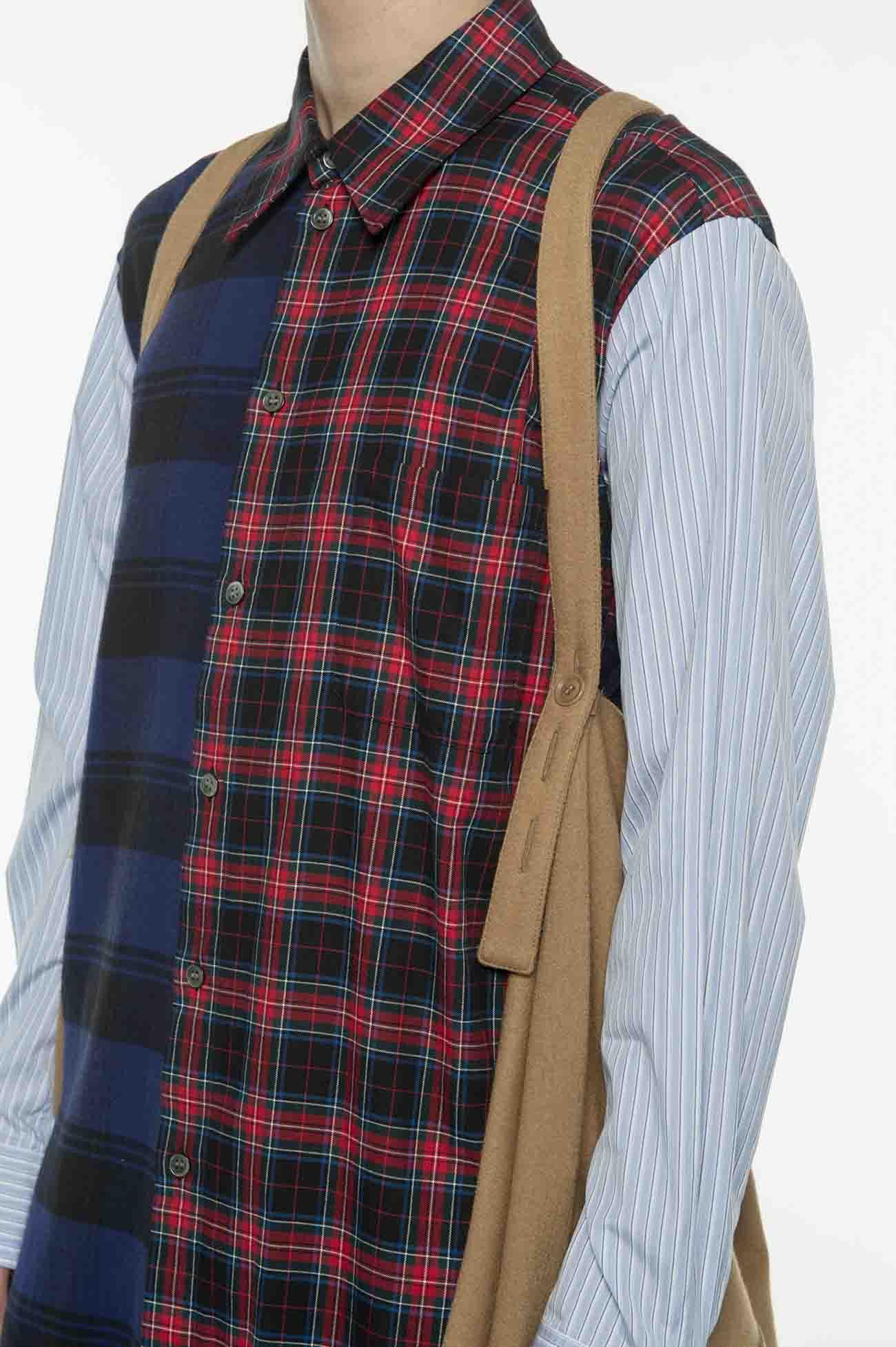 压缩羊毛披风连帽衫