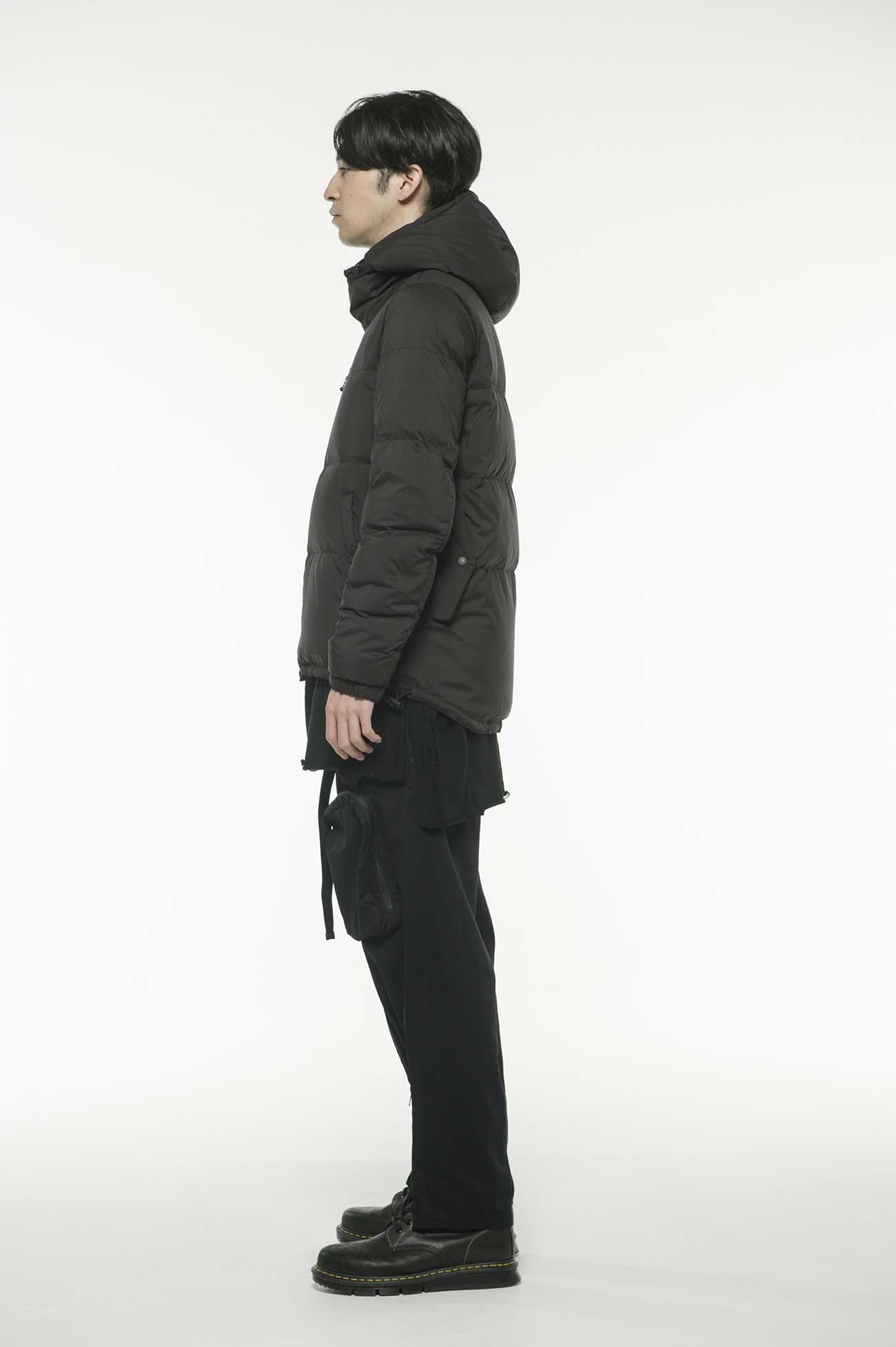 Pe Taffeta Hooded Down Jacket