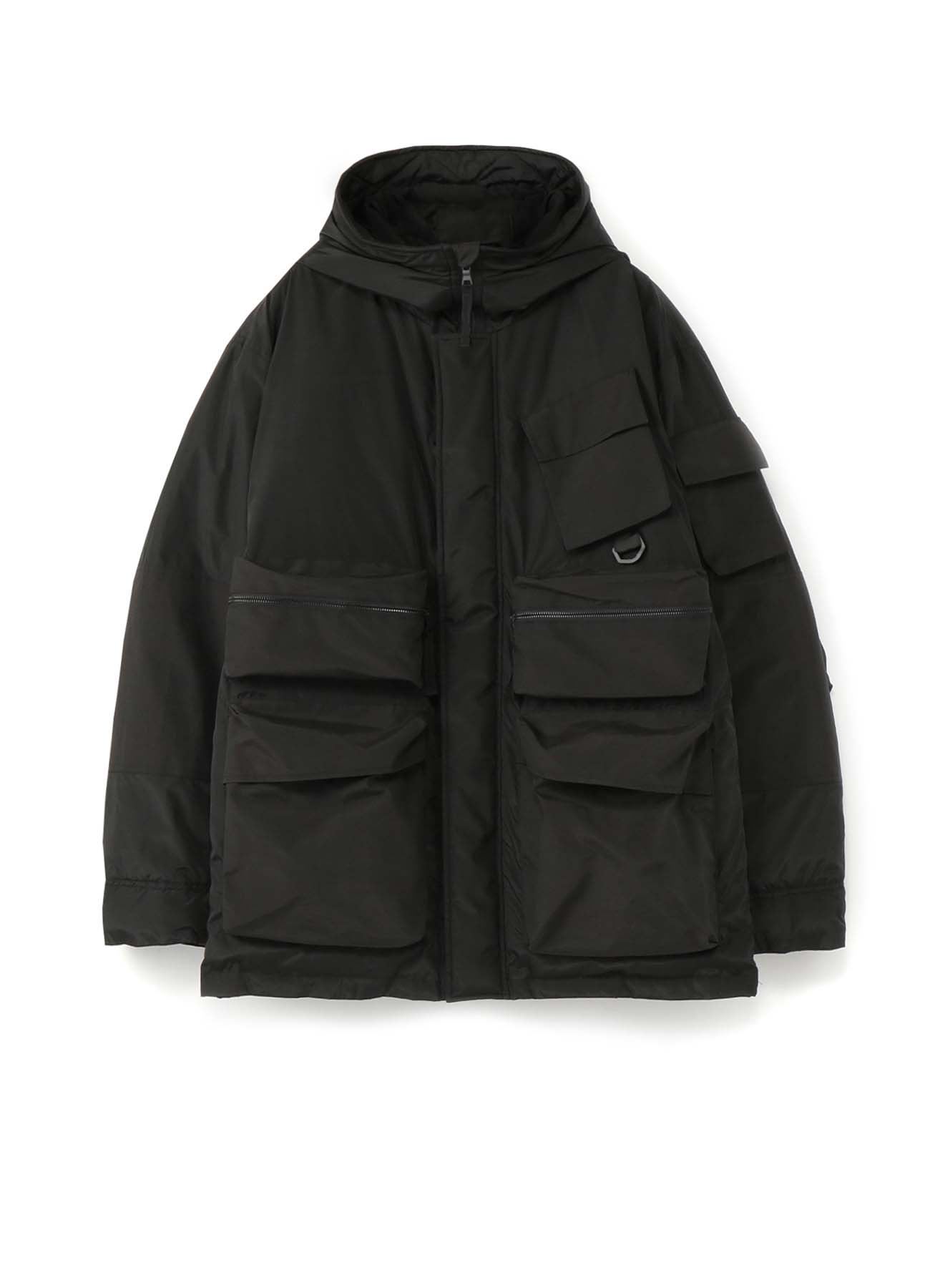 C/N Grosgrain Tactical Hood Down Jacket
