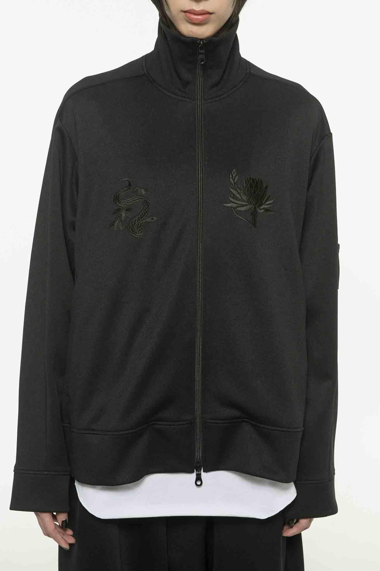 《三片蛇叶》,莲花·拉链卫衣