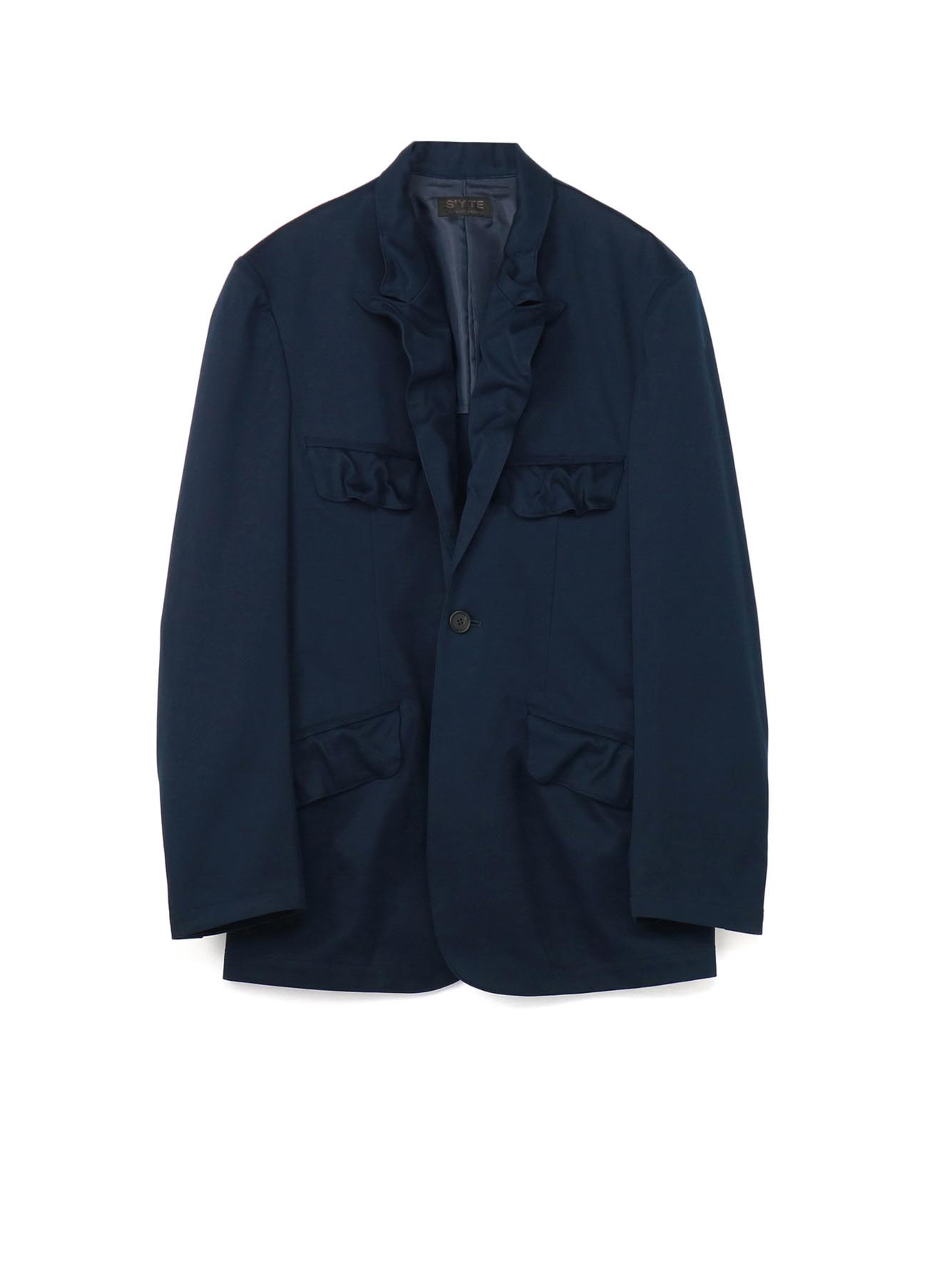C/ Brushed Eased Seam 1BS Peak Jacket