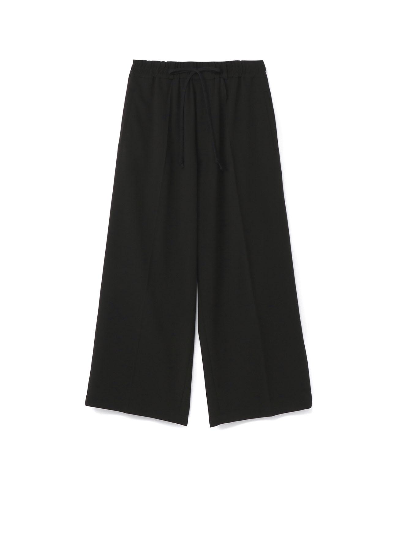 Pe/Rayon Gabardine Stretch Track Wide Pants
