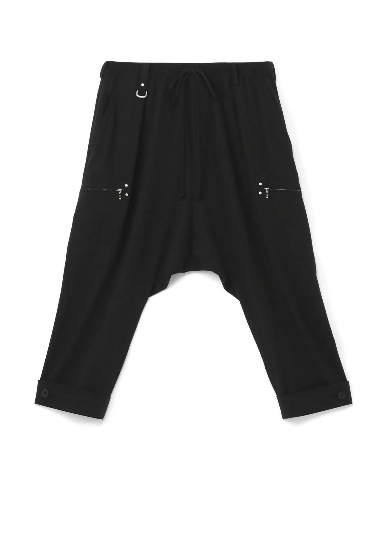 Pe/Rayon Gabardine Stretch Studs Slim Mackin Sarouel Pants