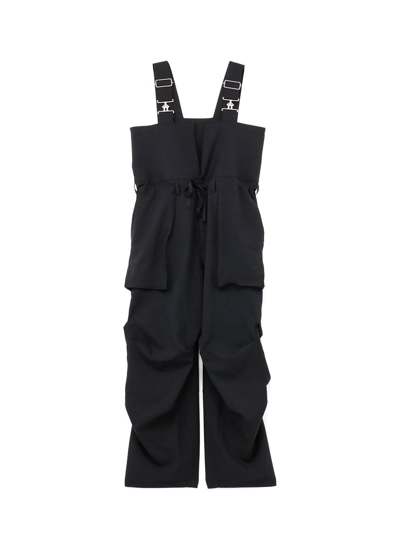 Shiwanoaru P/e Stretch Twill Zip Pocket Parachute Deck Pants