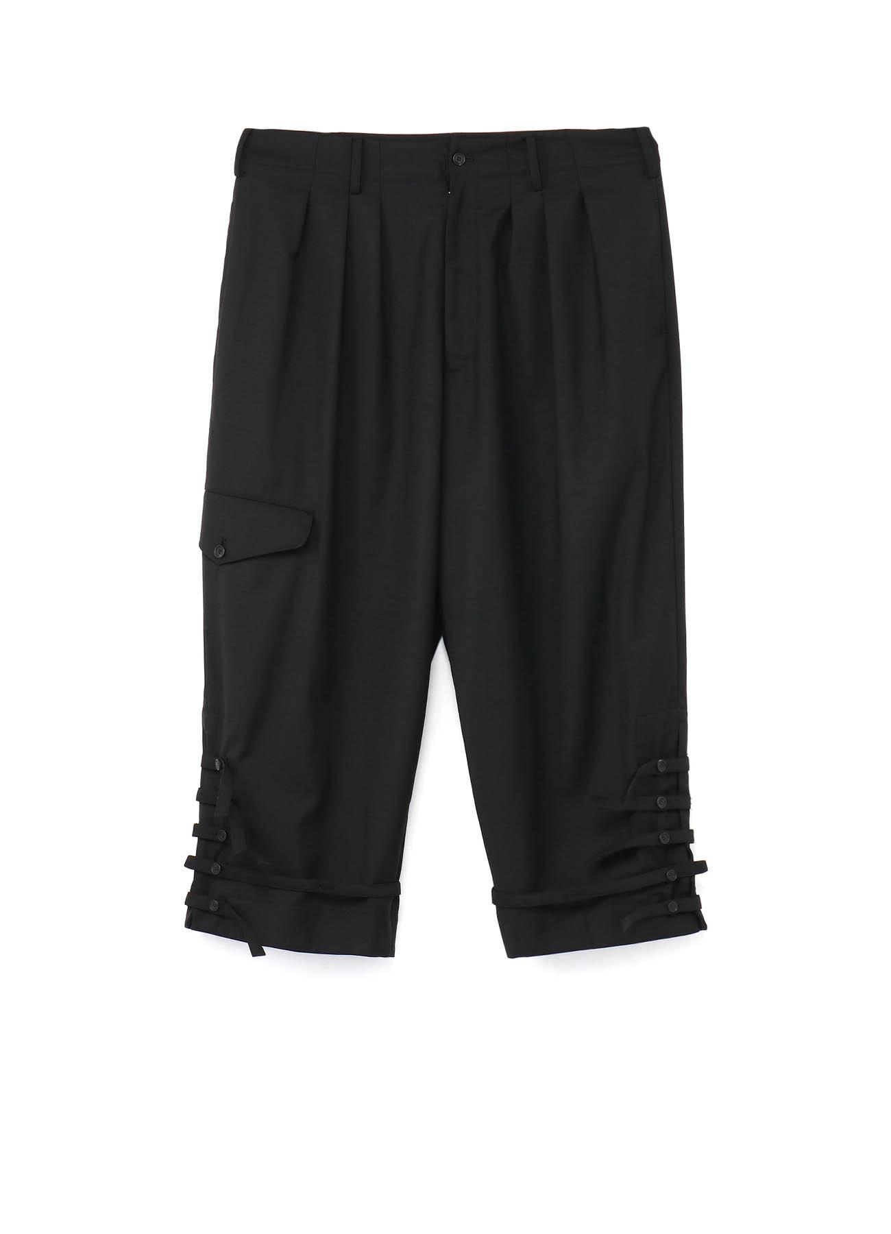 T/W Gabardine 3Tuck 5Loop Cargo Pants
