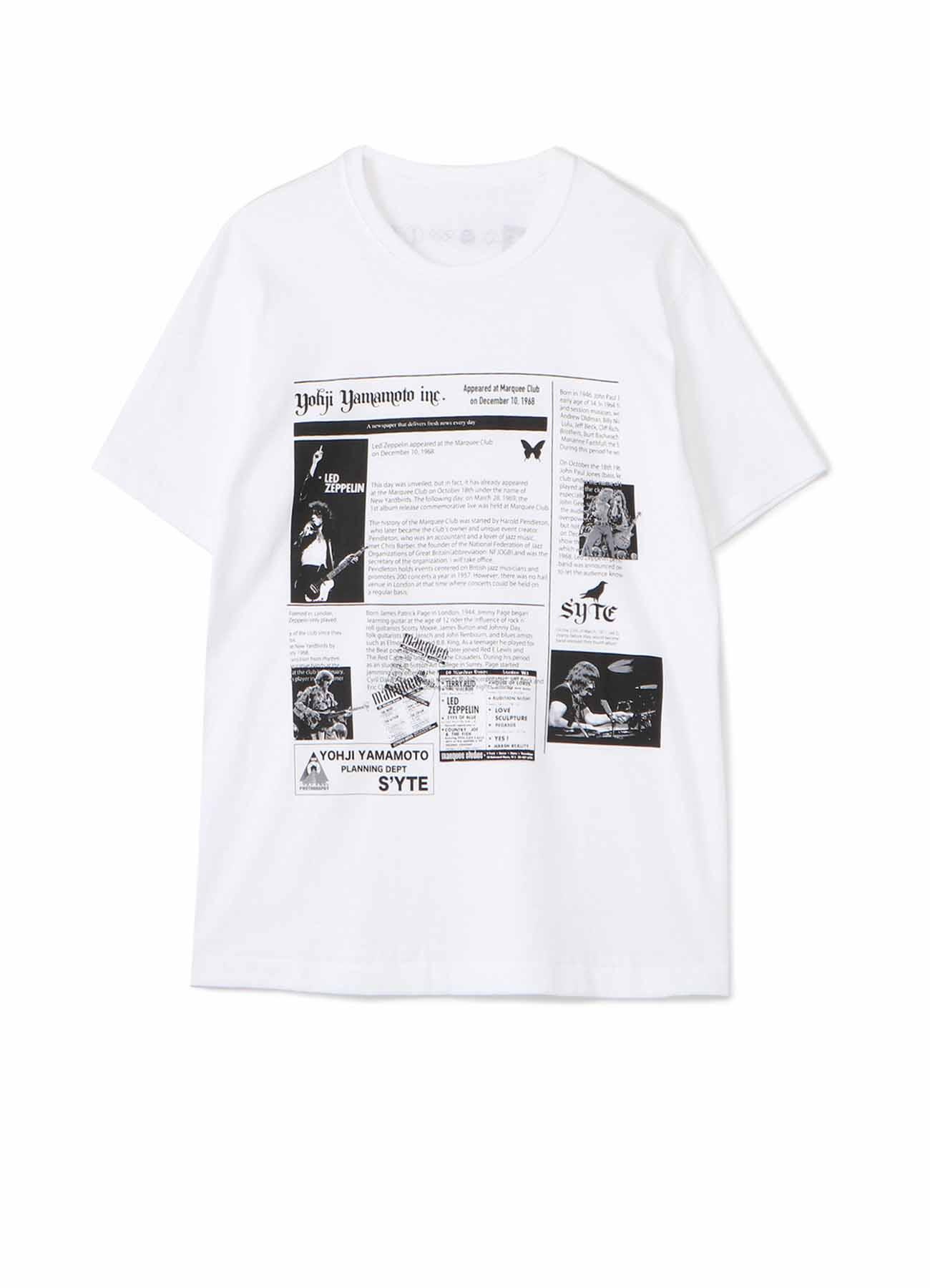 S'YTE × Dick Barnatt / Led Zeppelin T-shirt
