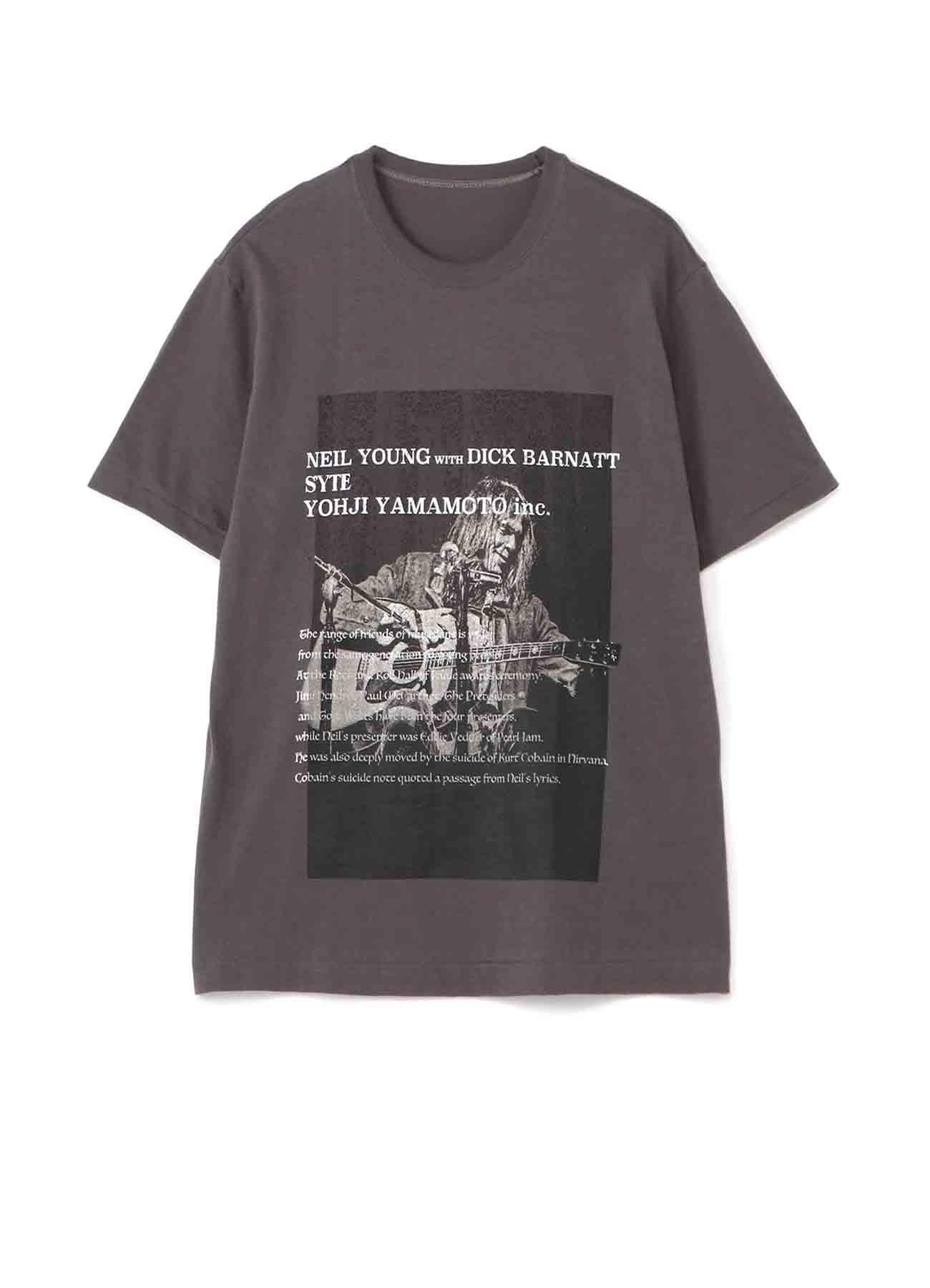 S'YTE × Dick Barnatt / Neil Young T-shirt