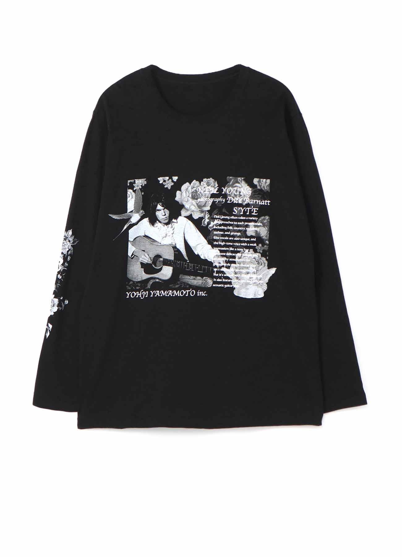 S'YTE × Dick Barnatt / Neil Young Long Sleeve T-shirt