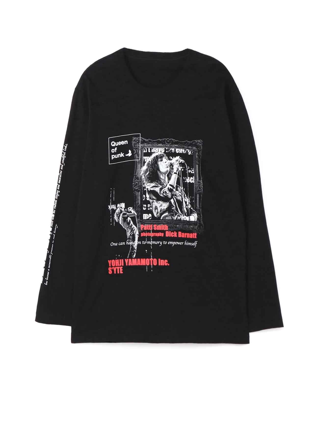 S'YTE × Dick Barnatt / Patti Smith Long Sleeve T-shirt