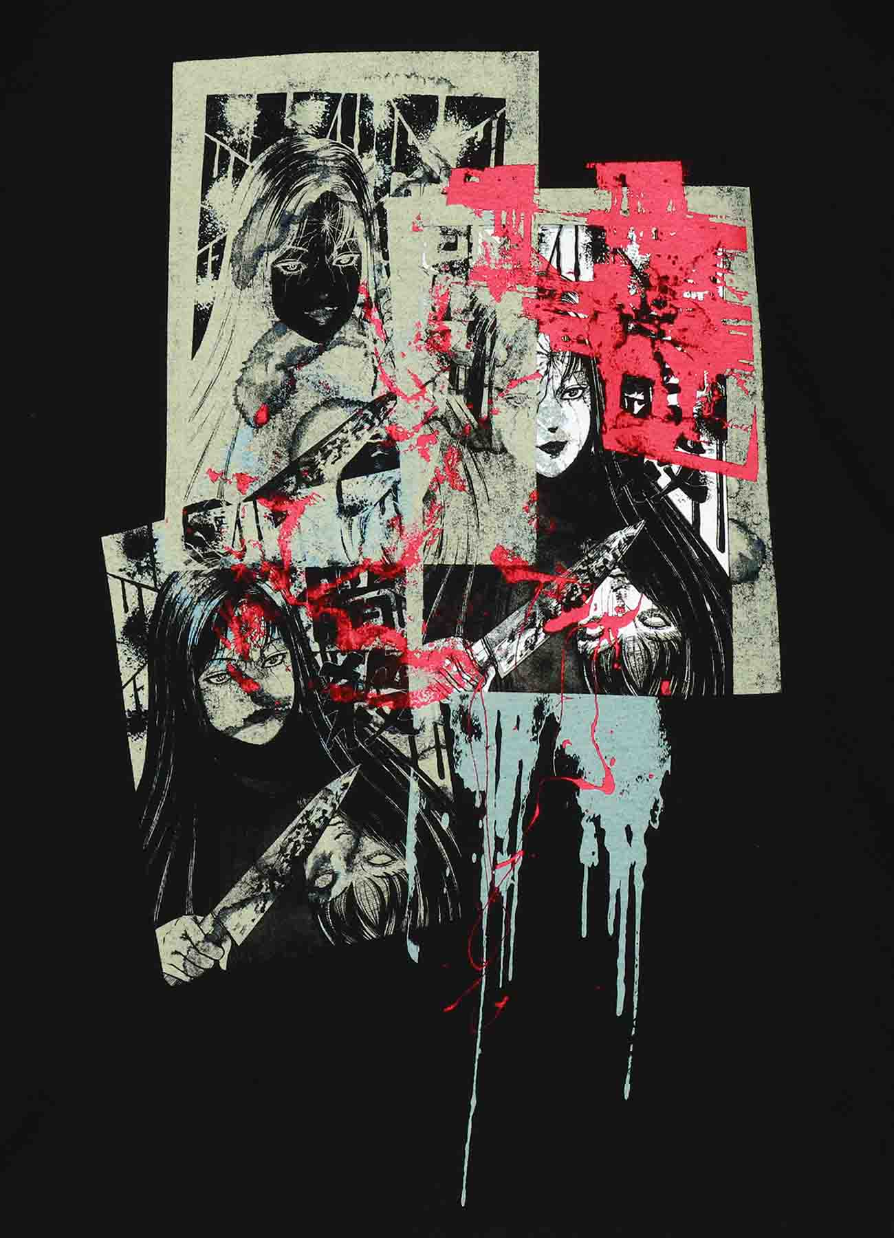 Junji ITO TomieAssassiation And Old Ugliness Long Sleeve T-shirt