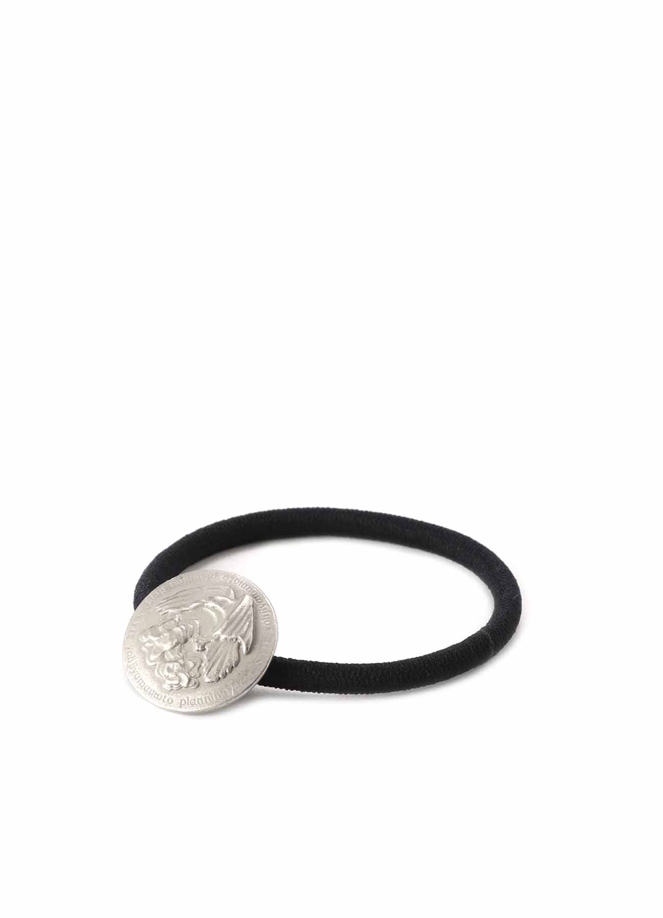 Crow Fower Concho Hair Tie