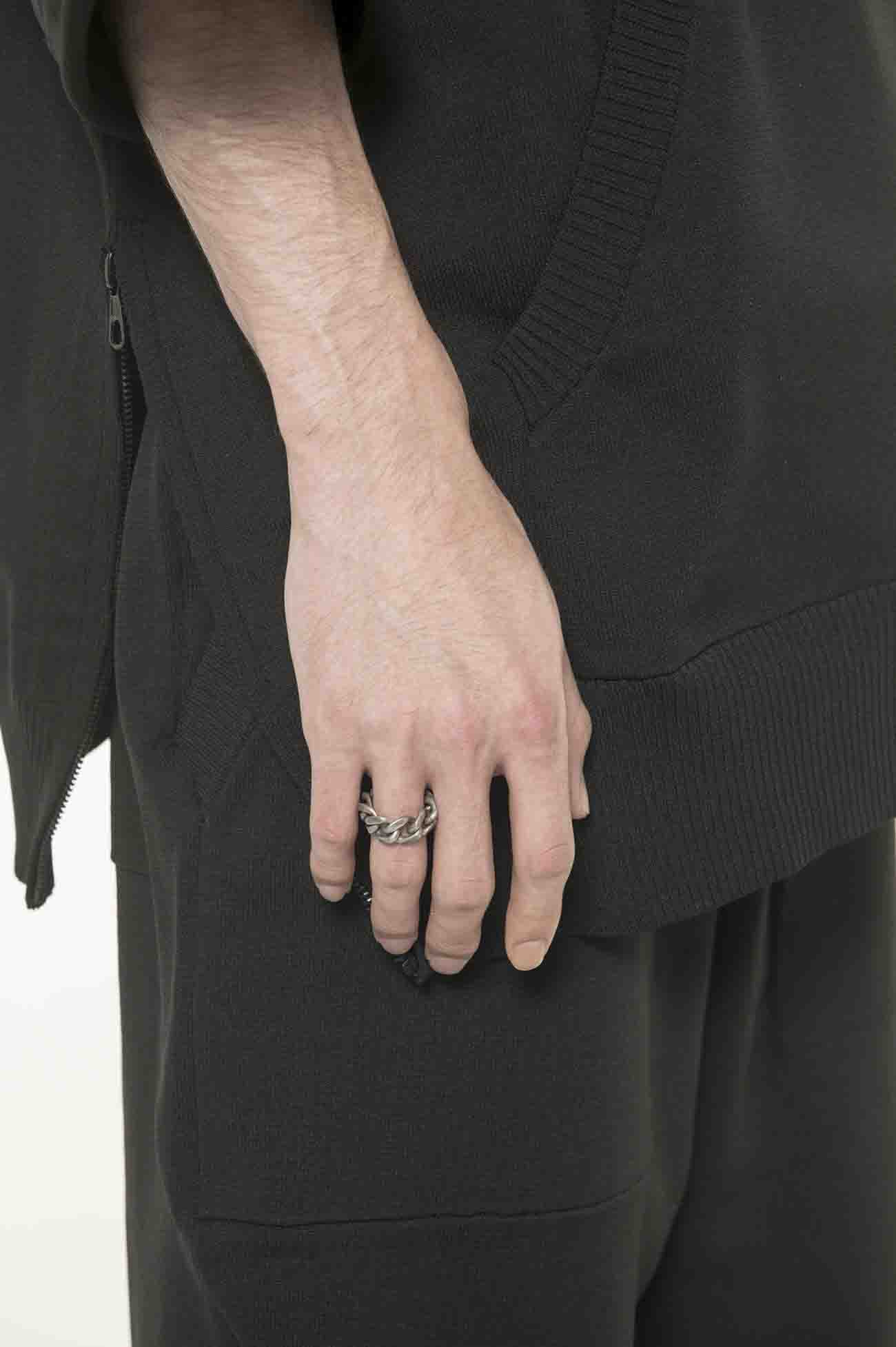 Brass Curved Chain Ring