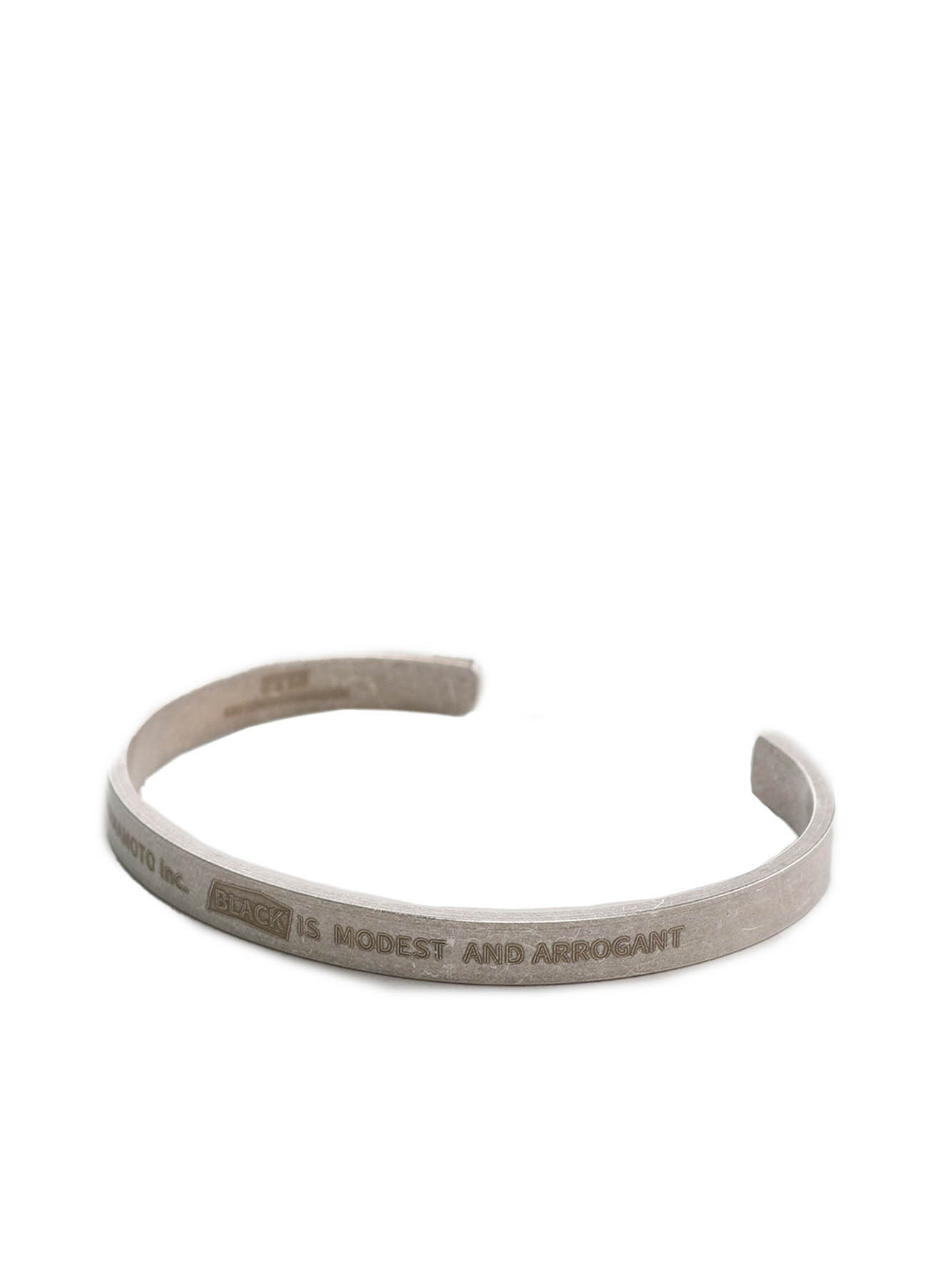 Brass「Black Is Modest」Message Bangle