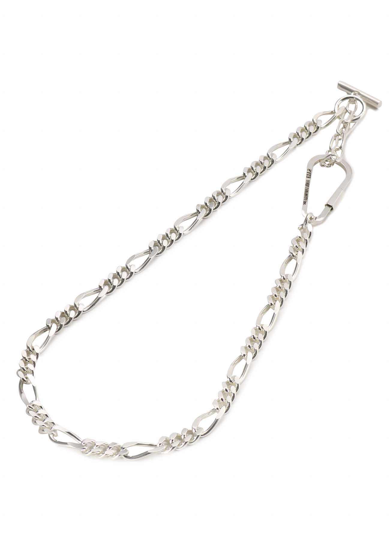 Brass Figaro Wallet Chain Necklace