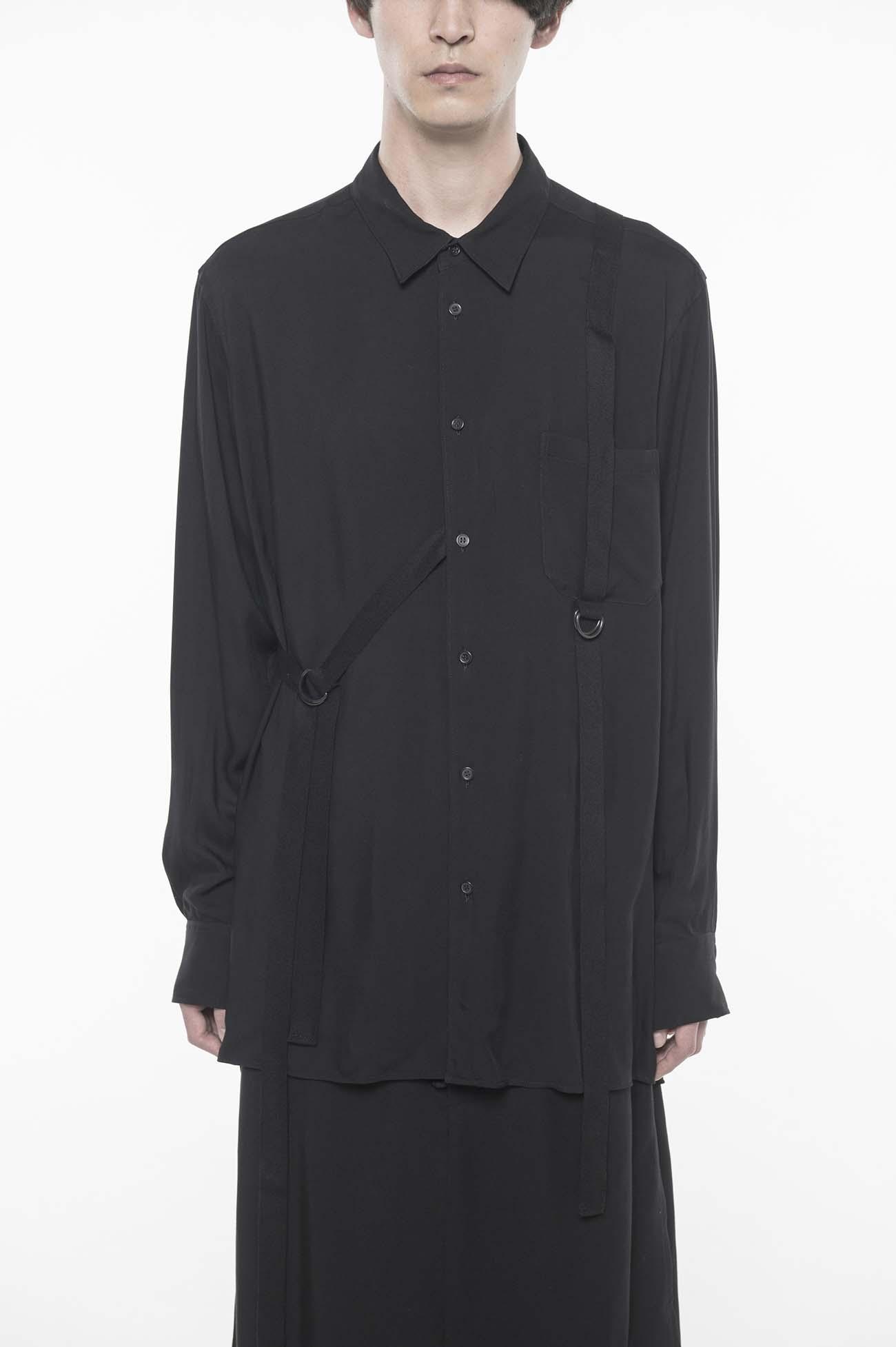 60s Ry/Span Twill/Cu Washer Regular Bondage Shirt