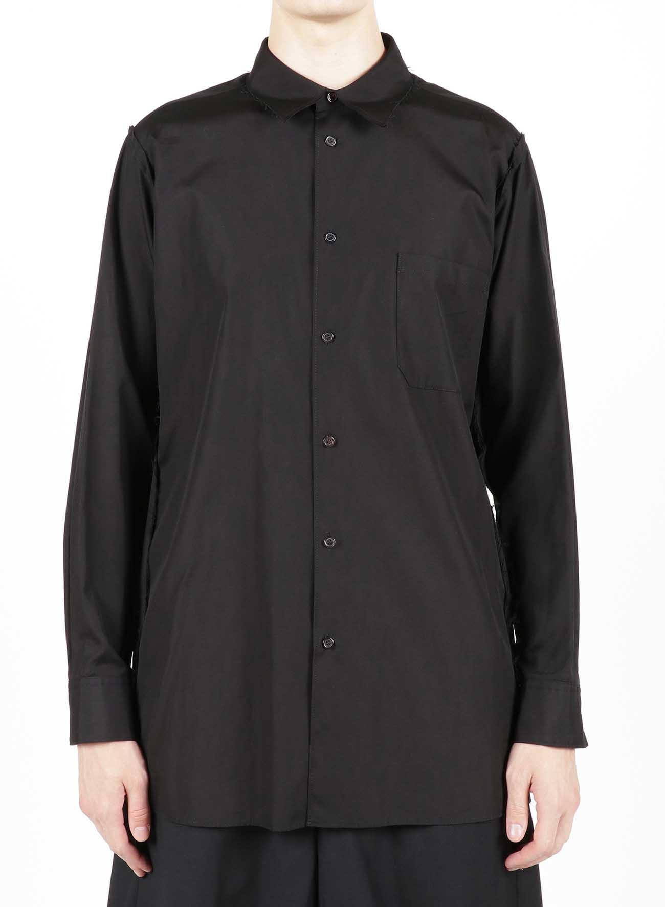 100/2 Broad Regular Collar Cut Off Shirt