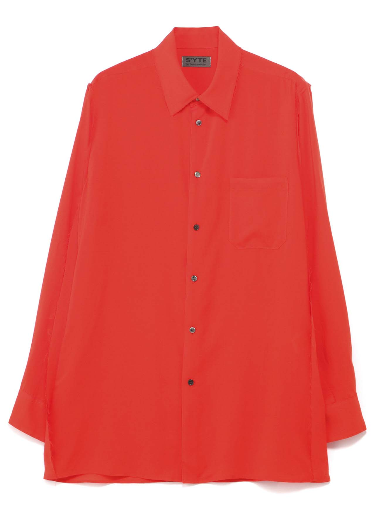 Tencel /Loan Cut off Regular Collar Shirt