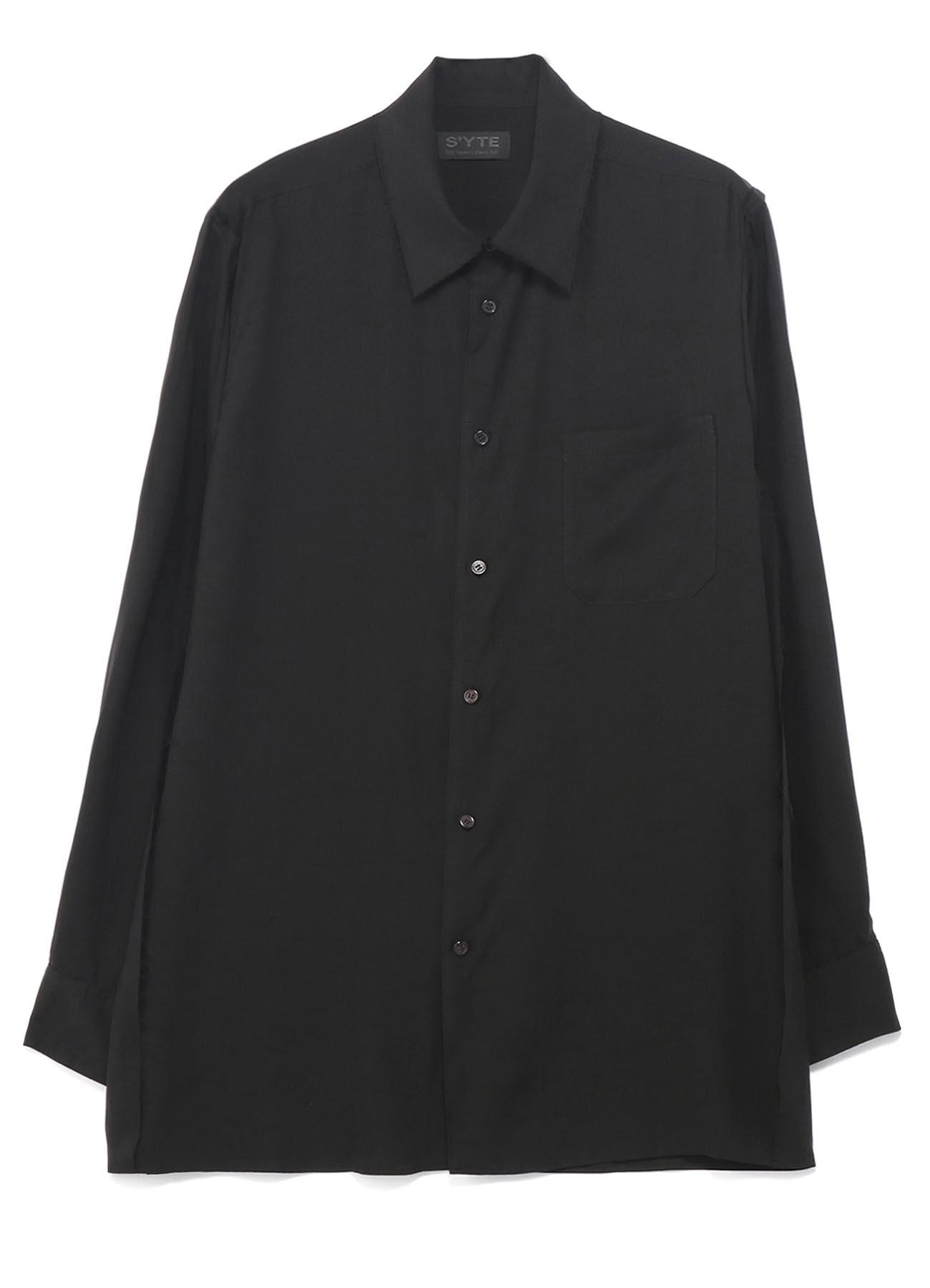 Tencel /Loan Cut off Regular Collar Shirt