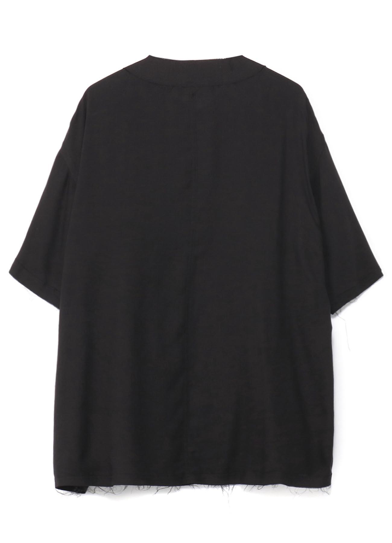 Tencel Viyella Big Baseball Shirt Jacket