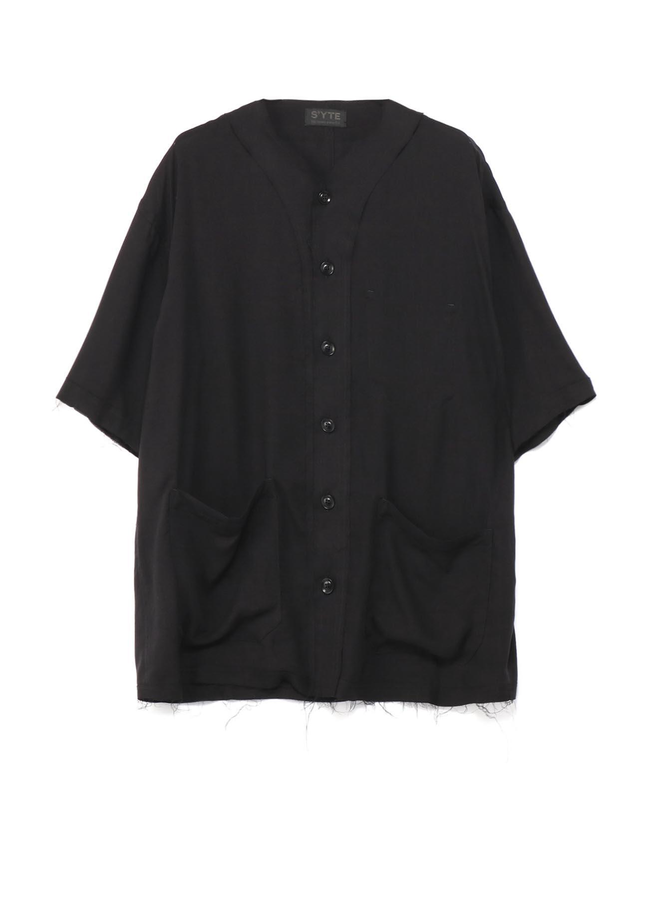 天丝棒球衬衫型夹克